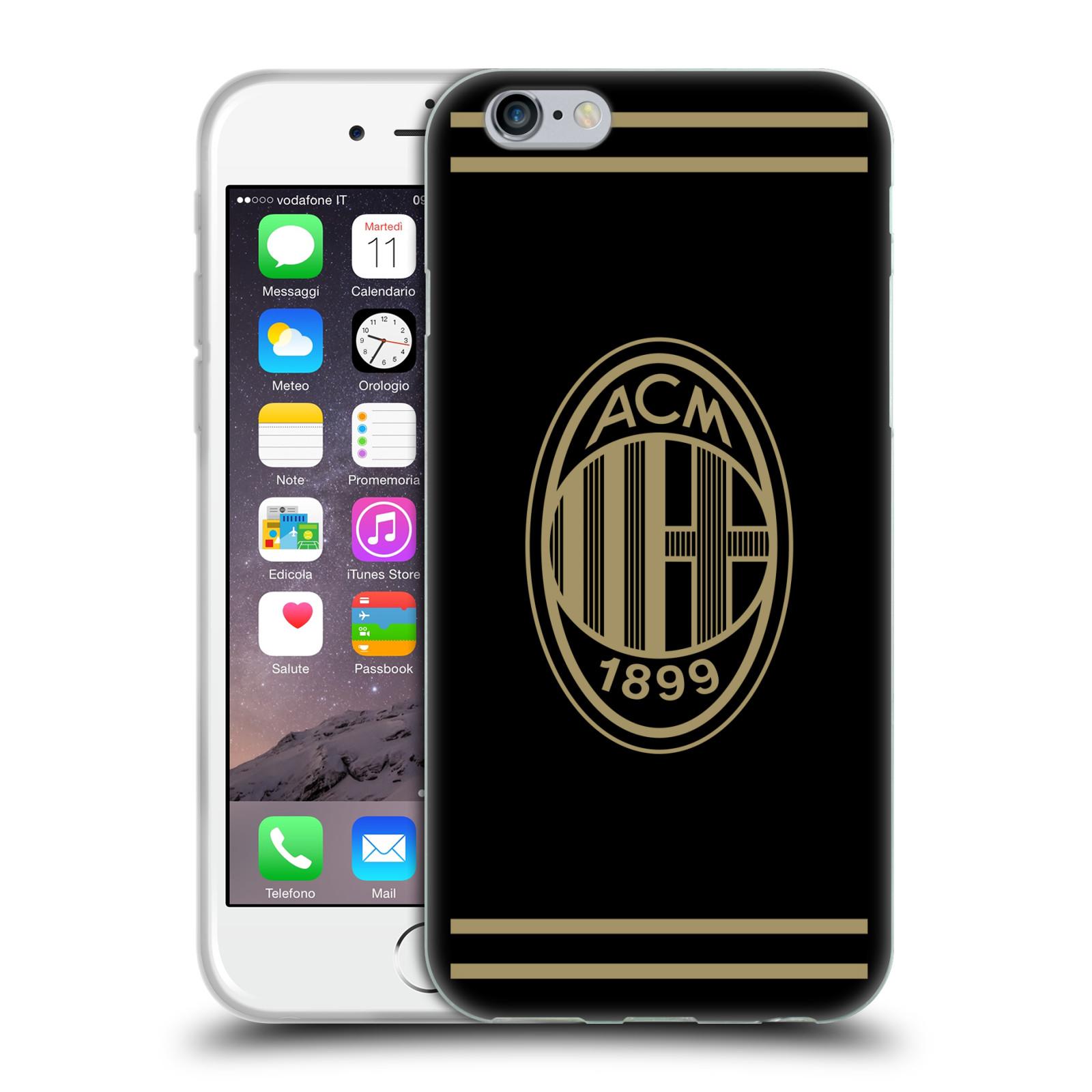 HEAD CASE silikonový obal na mobil Apple Iphone 6 6S oficiální kryt  fotbalový tým AC empty dd38fcdd386