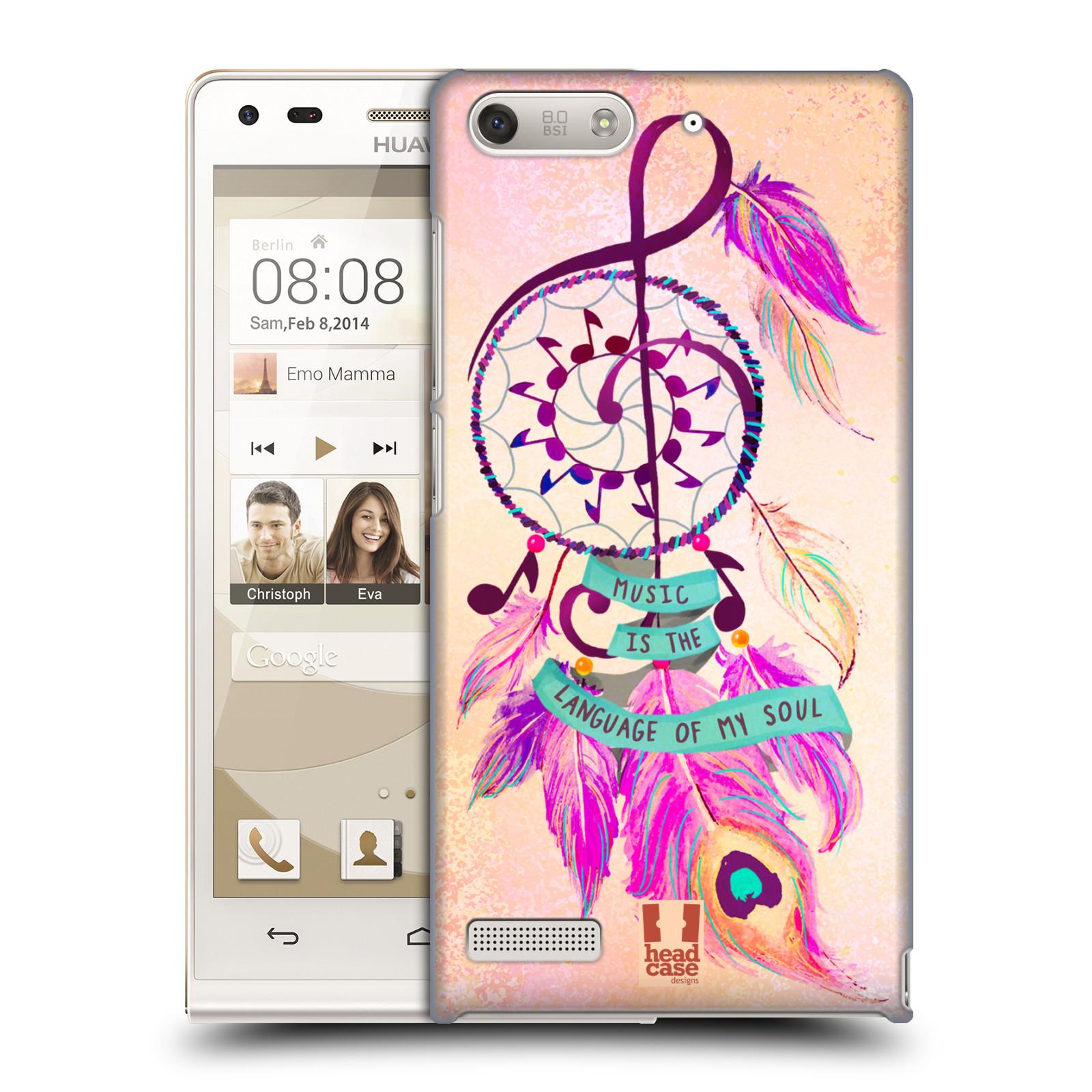 Plastové pouzdro na mobil Huawei Ascend G6 HEAD CASE Lapač Assorted Music (Kryt či obal na mobilní telefon Huawei Ascend G6 bez LTE)