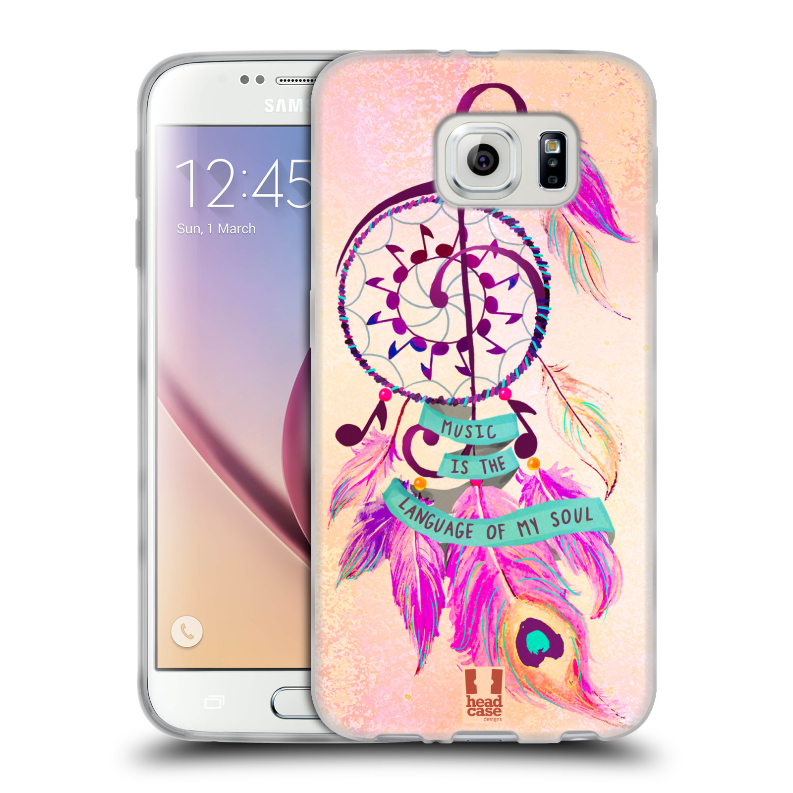 HEAD CASE DESIGNS ASSORTED DREAM CATCHERS SOFT GEL CASE FOR SAMSUNG PHONES 1