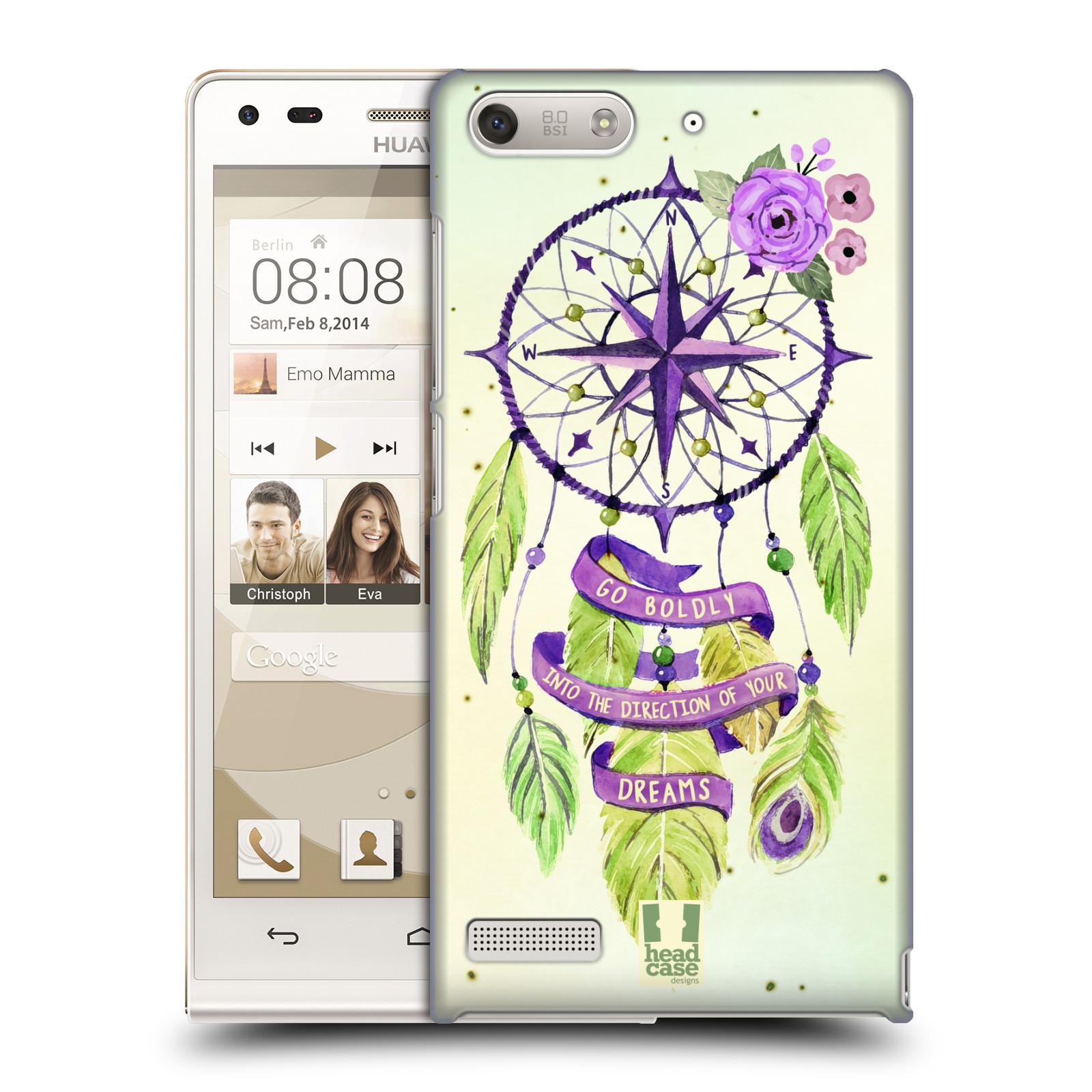 Plastové pouzdro na mobil Huawei Ascend G6 HEAD CASE Lapač Assorted Compass (Kryt či obal na mobilní telefon Huawei Ascend G6 bez LTE)