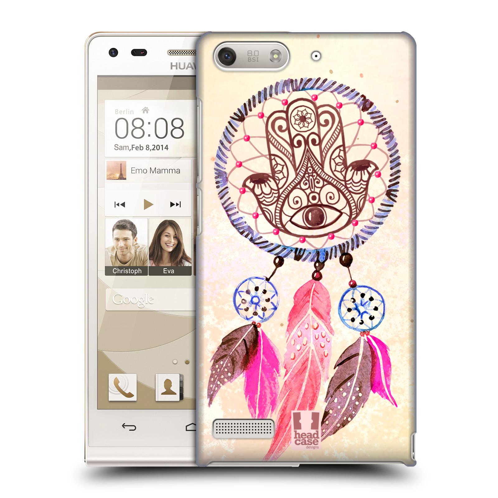 Plastové pouzdro na mobil Huawei Ascend G6 HEAD CASE Lapač Assorted Hamsa (Kryt či obal na mobilní telefon Huawei Ascend G6 bez LTE)