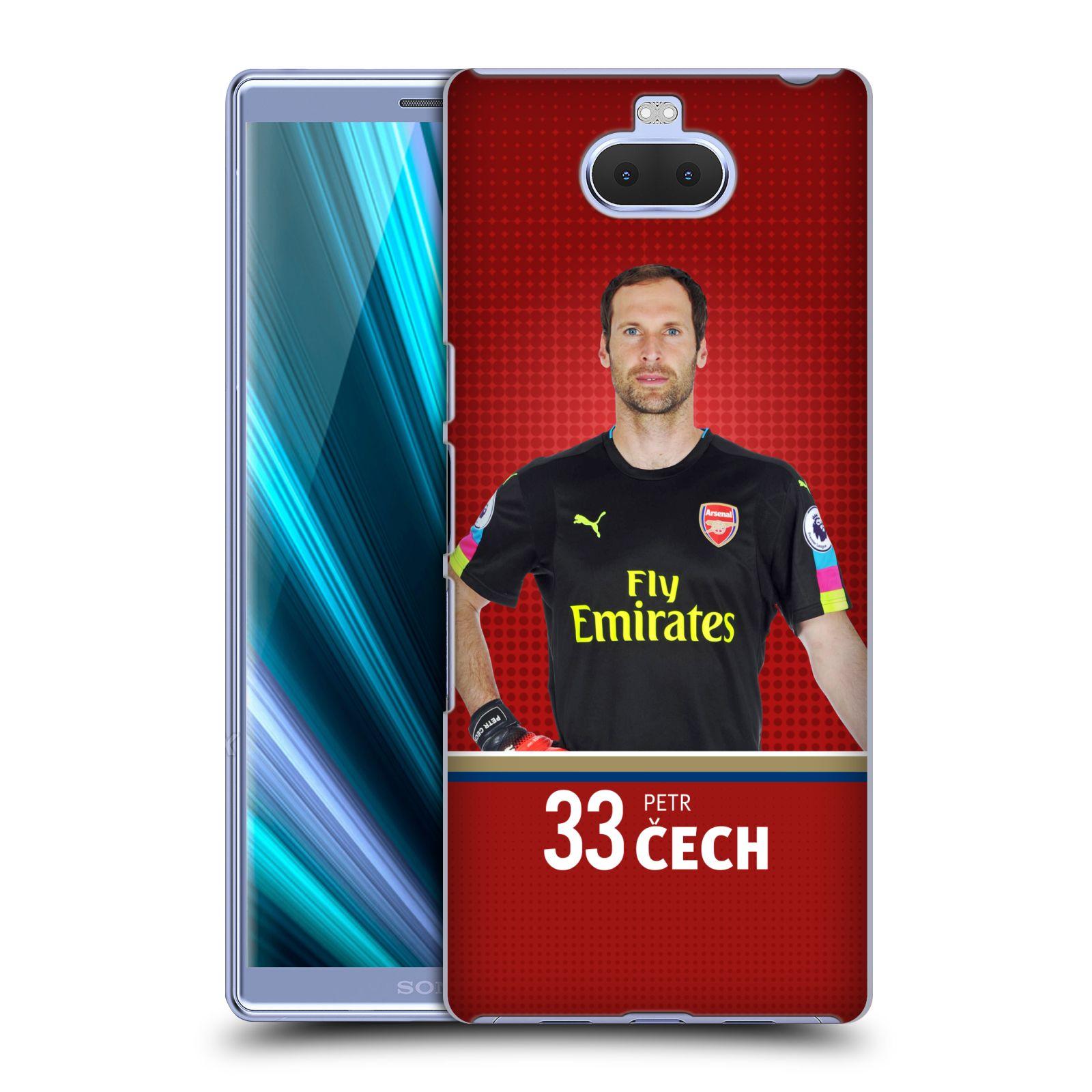 Pouzdro na mobil Sony Xperia 10 - Head Case - Fotbalový klub Arsenal brankář Petr Čech