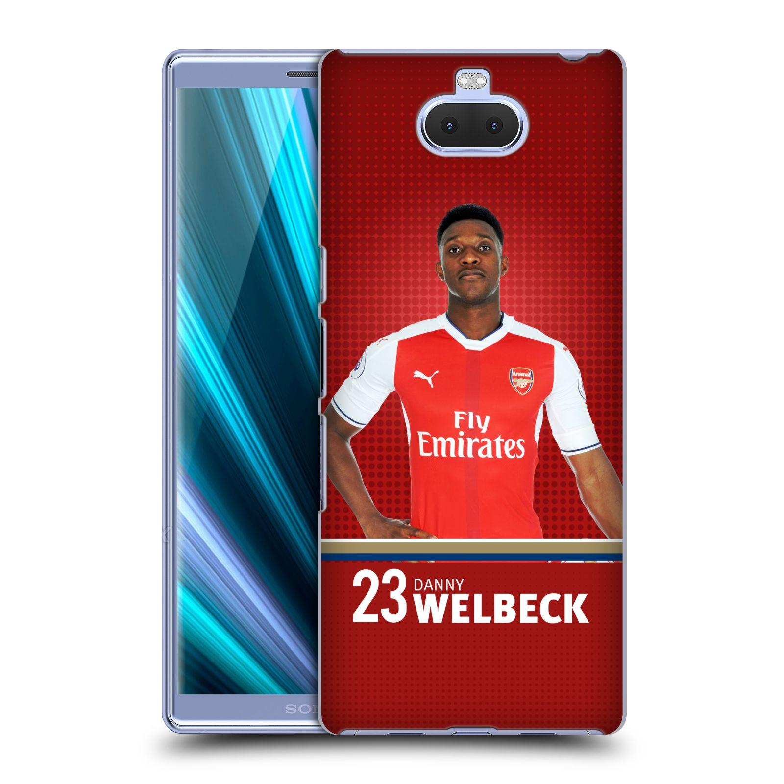 Pouzdro na mobil Sony Xperia 10 - Head Case - Fotbalový klub Arsenal hráč Danny Welbeck