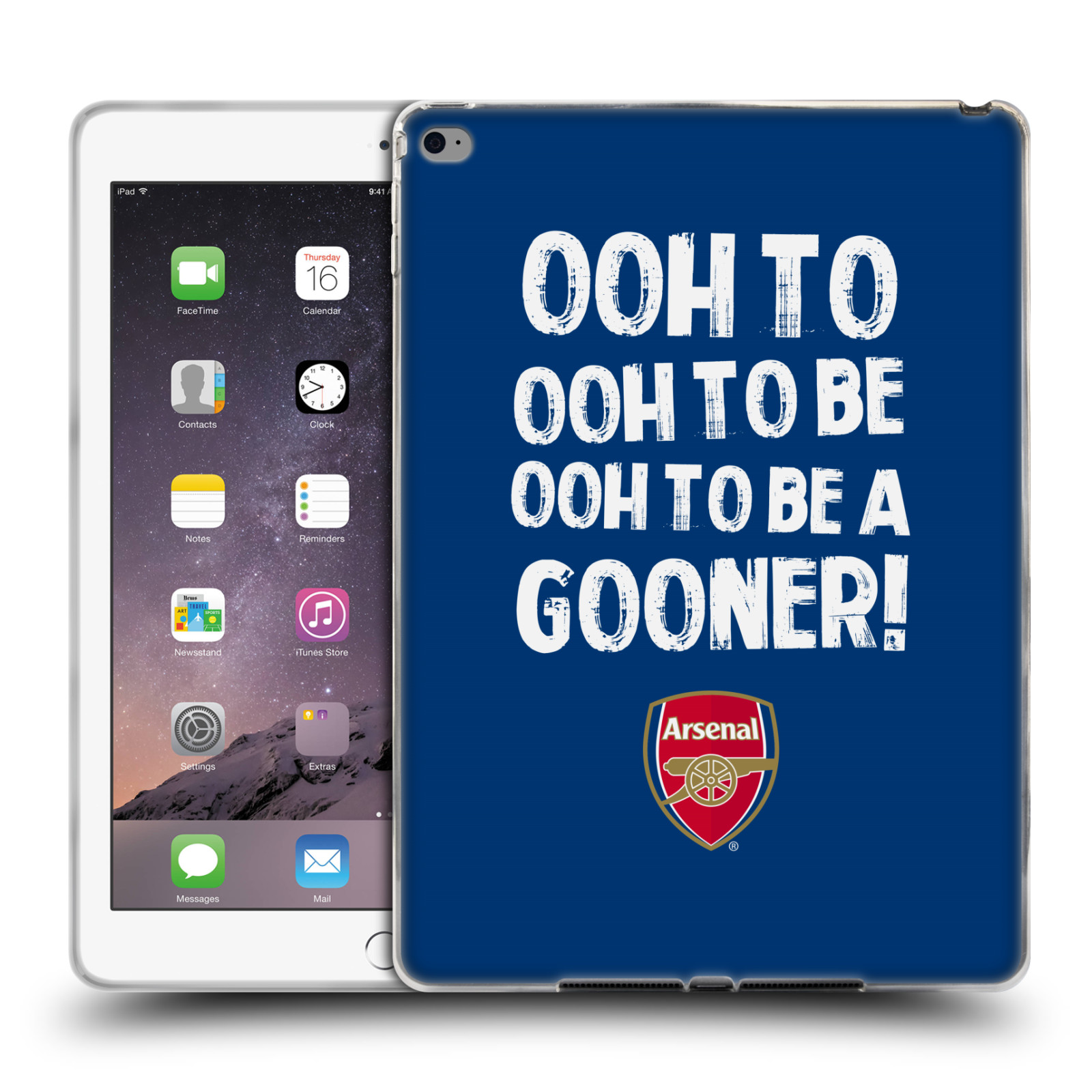 UFFICIALE-ARSENAL-FC-GOONERS-COVER-MORBIDA-IN-GEL-PER-APPLE-SAMSUNG-TABLETS
