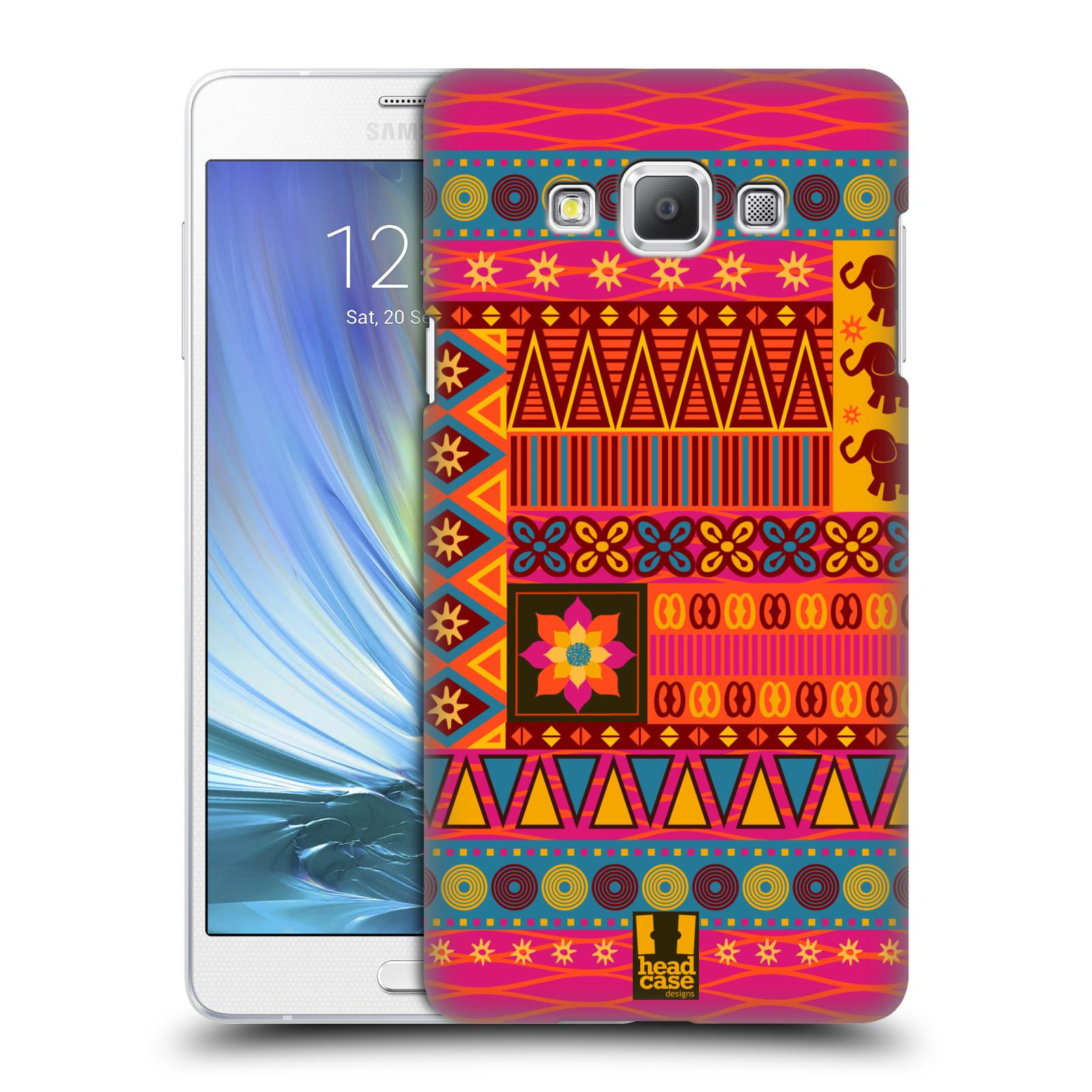 HEAD CASE plastový obal na mobil SAMSUNG GALAXY A7 vzor Africké motivy 2 KRÁSA