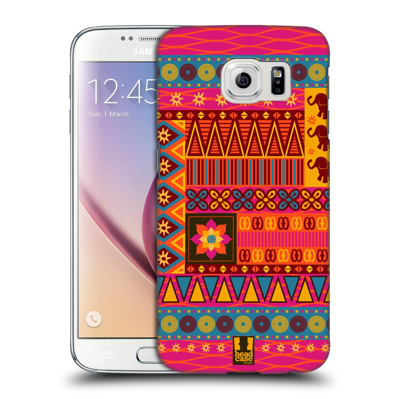 HEAD CASE plastový obal na mobil SAMSUNG Galaxy S6 (G9200, G920F) vzor Africké motivy 2 KRÁSA