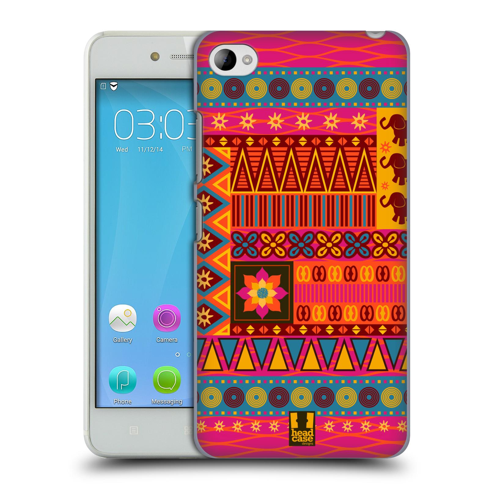HEAD CASE pevný plastový obal na mobil LENOVO S90 vzor Africké motivy 2 KRÁSA
