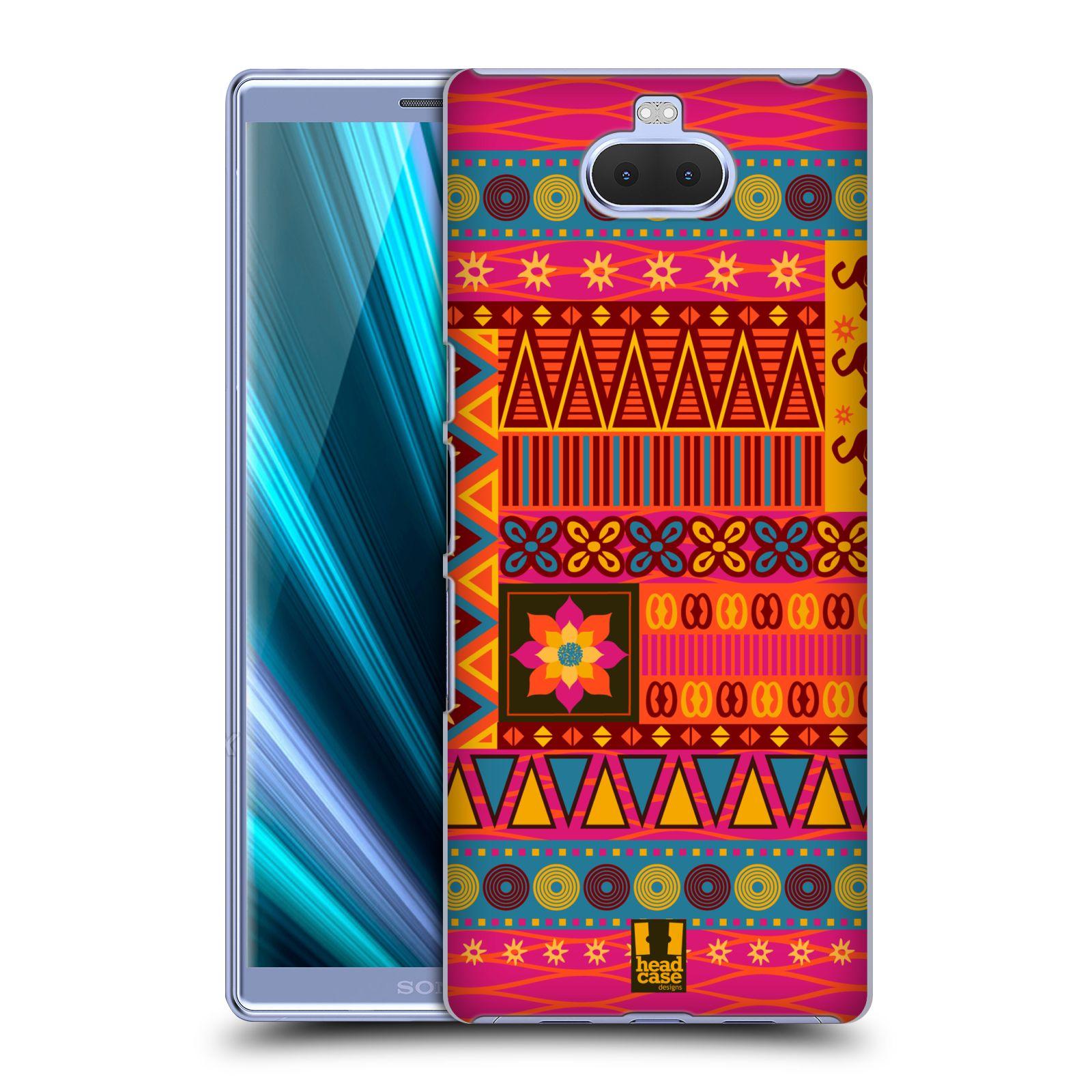Pouzdro na mobil Sony Xperia 10 - Head Case - vzor Africké motivy 2 KRÁSA
