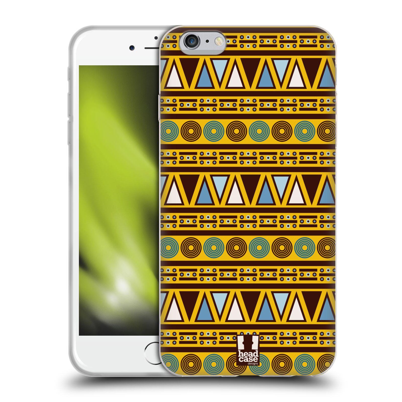 HEAD CASE silikonový obal na mobil Apple Iphone 6 PLUS/ 6S PLUS vzor Africké motivy 2 KULTURA
