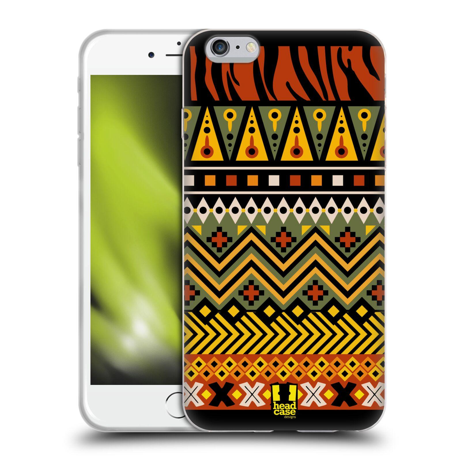 HEAD CASE silikonový obal na mobil Apple Iphone 6 PLUS/ 6S PLUS vzor Africké motivy 2 DŽUNGLE