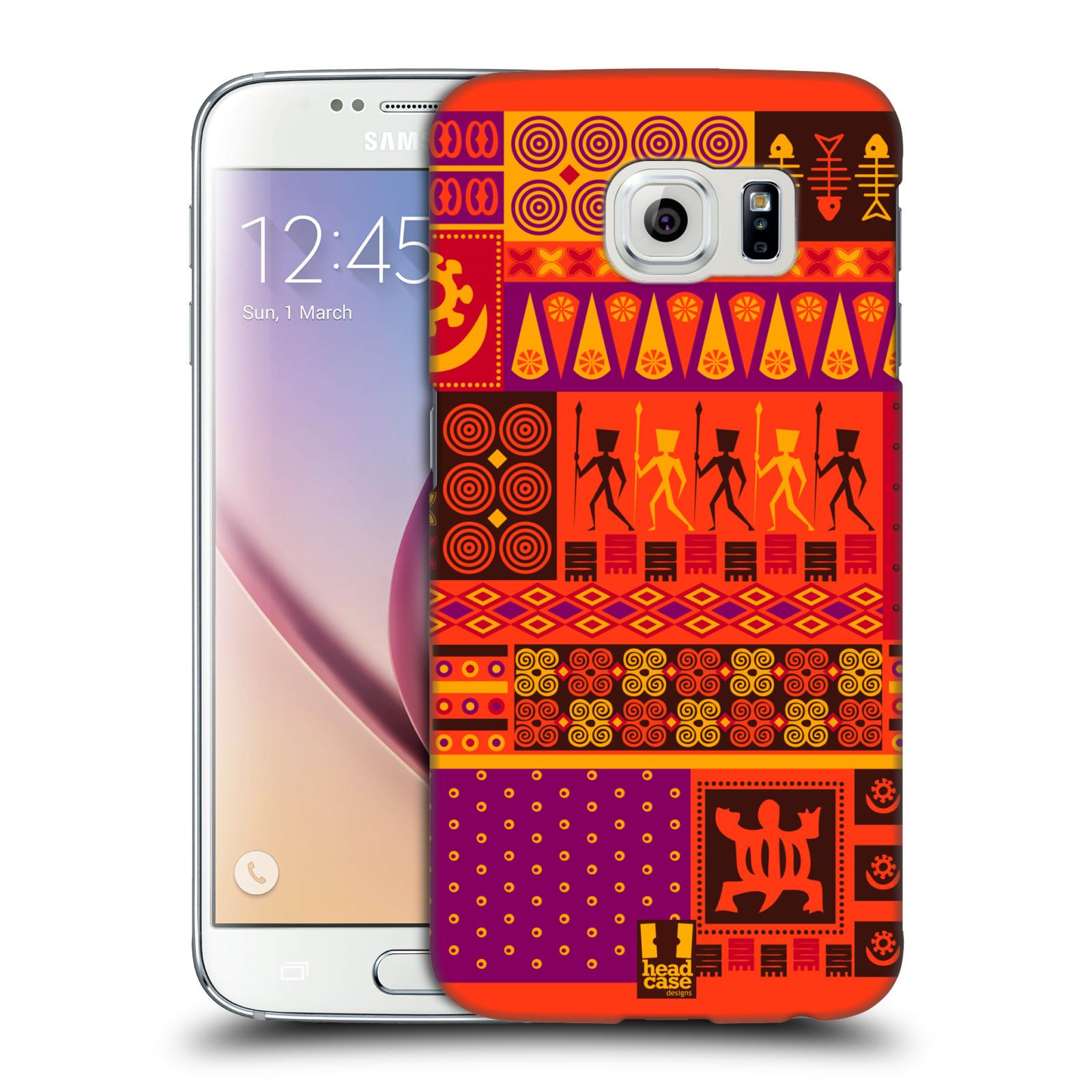HEAD CASE plastový obal na mobil SAMSUNG Galaxy S6 (G9200, G920F) vzor Africké motivy 2 SAFARI západ slunce
