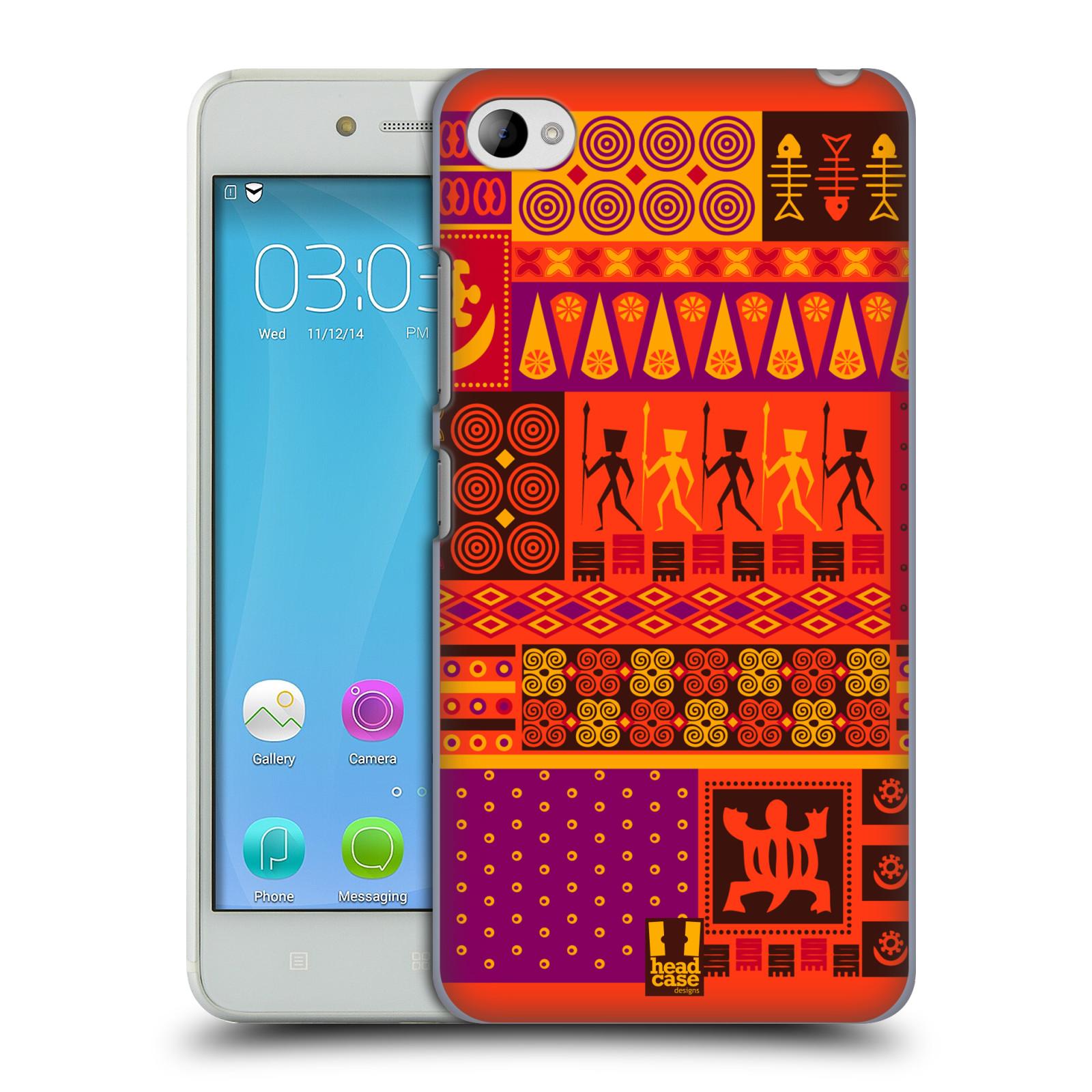 HEAD CASE pevný plastový obal na mobil LENOVO S90 vzor Africké motivy 2 SAFARI západ slunce