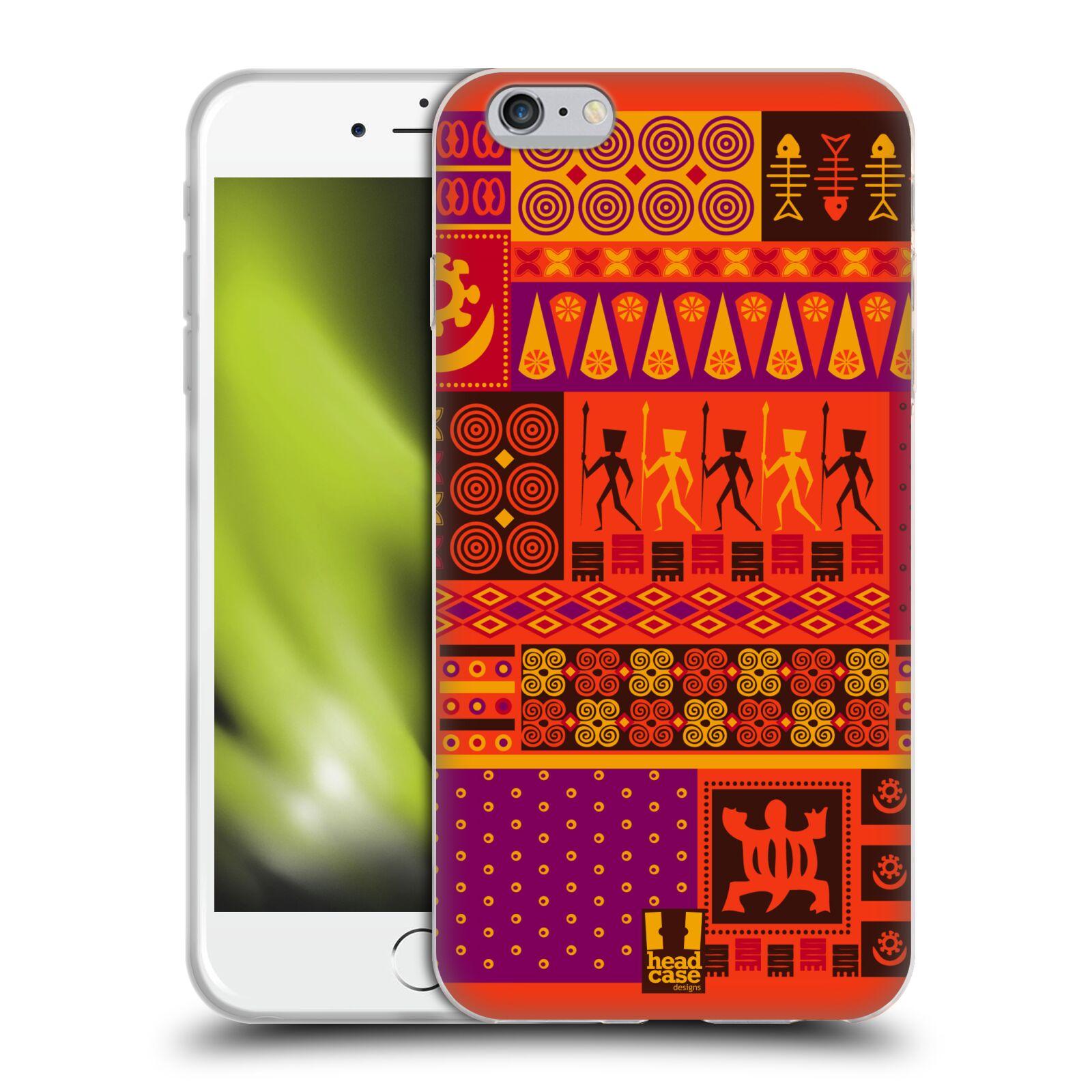 HEAD CASE silikonový obal na mobil Apple Iphone 6 PLUS/ 6S PLUS vzor Africké motivy 2 SAFARI západ slunce