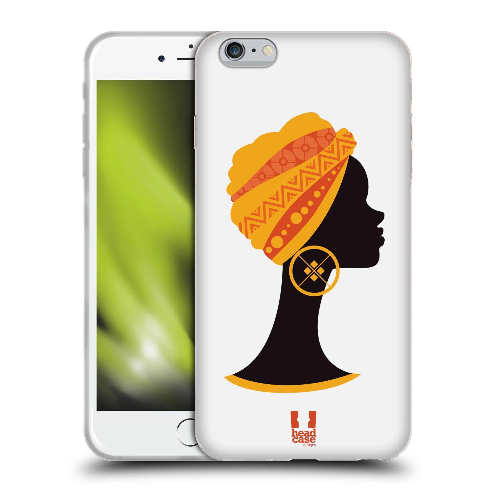 HEAD CASE silikonový obal na mobil Apple Iphone 6 PLUS/ 6S PLUS vzor Africké motivy SILUETA