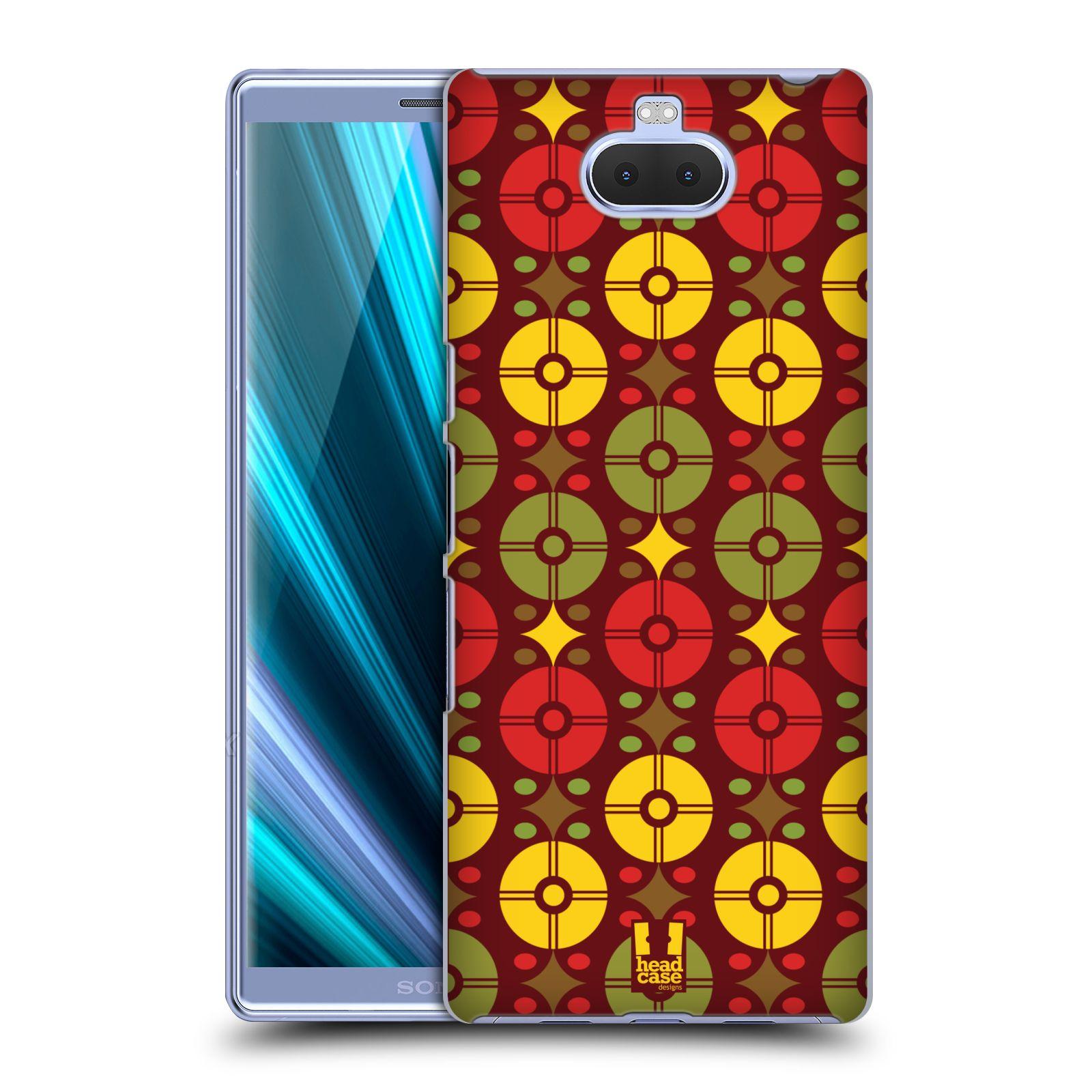 Pouzdro na mobil Sony Xperia 10 - Head Case - vzor Africké motivy OMÁMENÍ