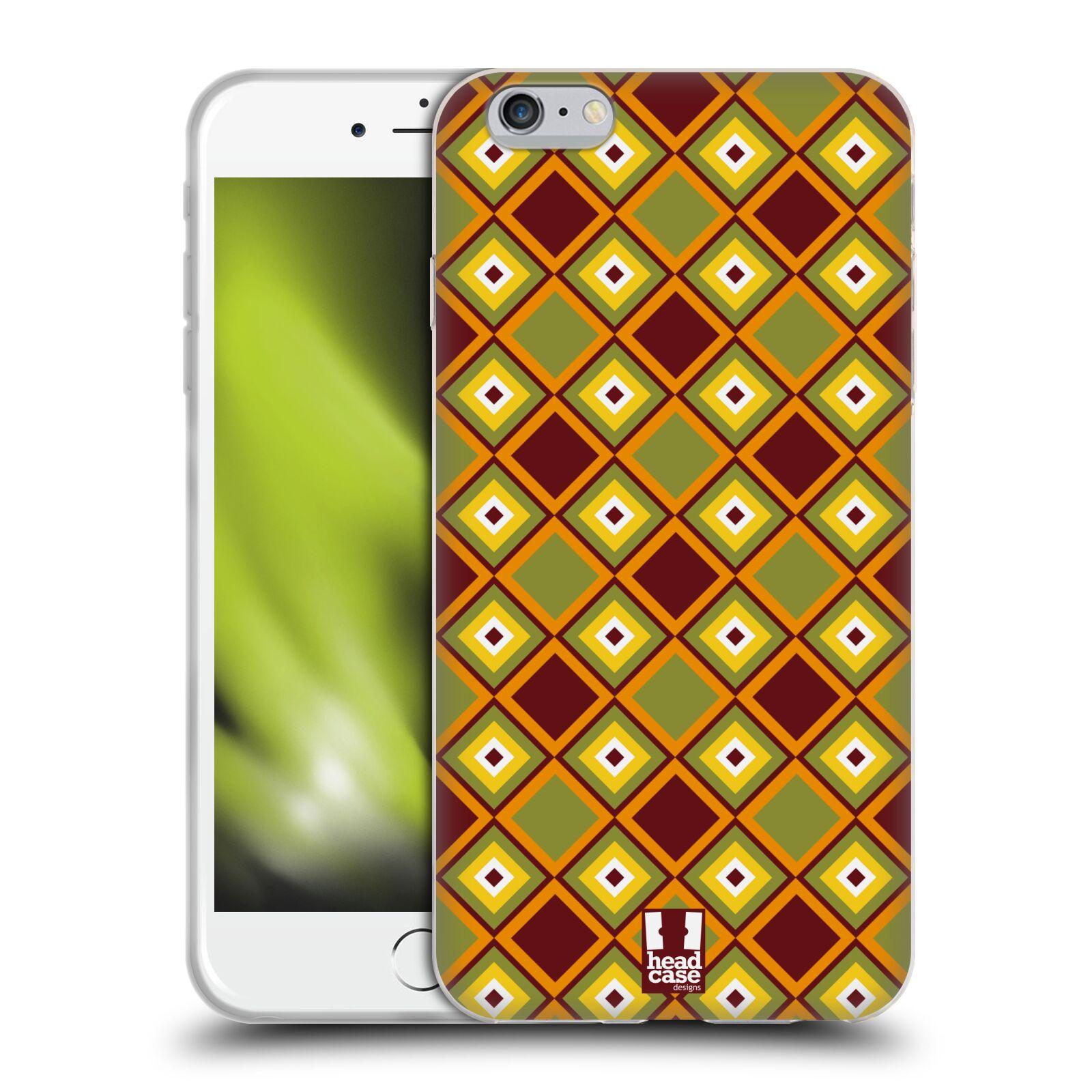HEAD CASE silikonový obal na mobil Apple Iphone 6 PLUS/ 6S PLUS vzor Africké motivy DIAMANT