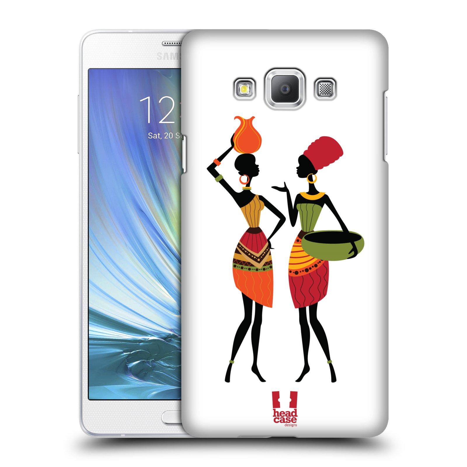 HEAD CASE plastový obal na mobil SAMSUNG GALAXY A7 vzor Africké motivy DRBNY