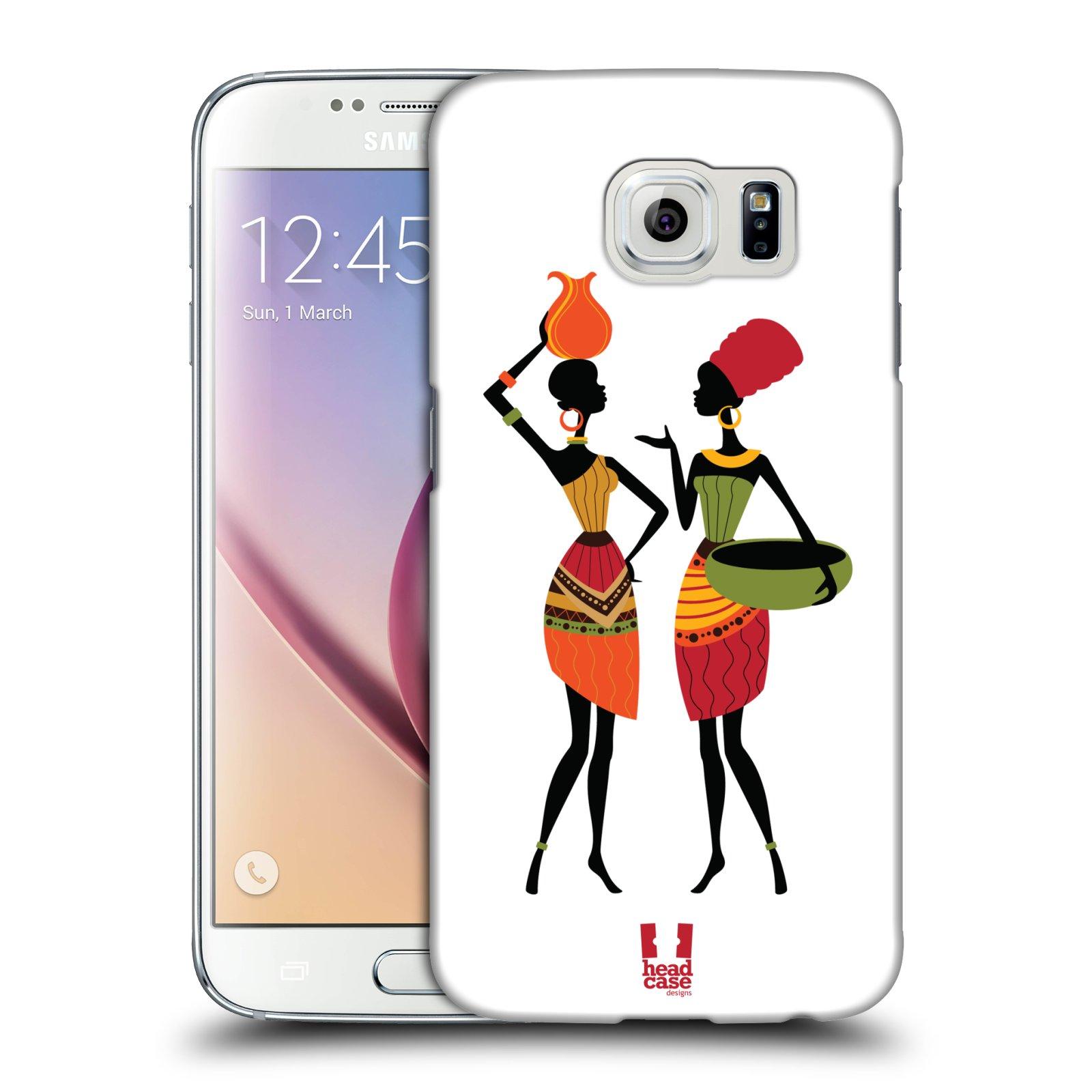 HEAD CASE plastový obal na mobil SAMSUNG Galaxy S6 (G9200, G920F) vzor Africké motivy DRBNY