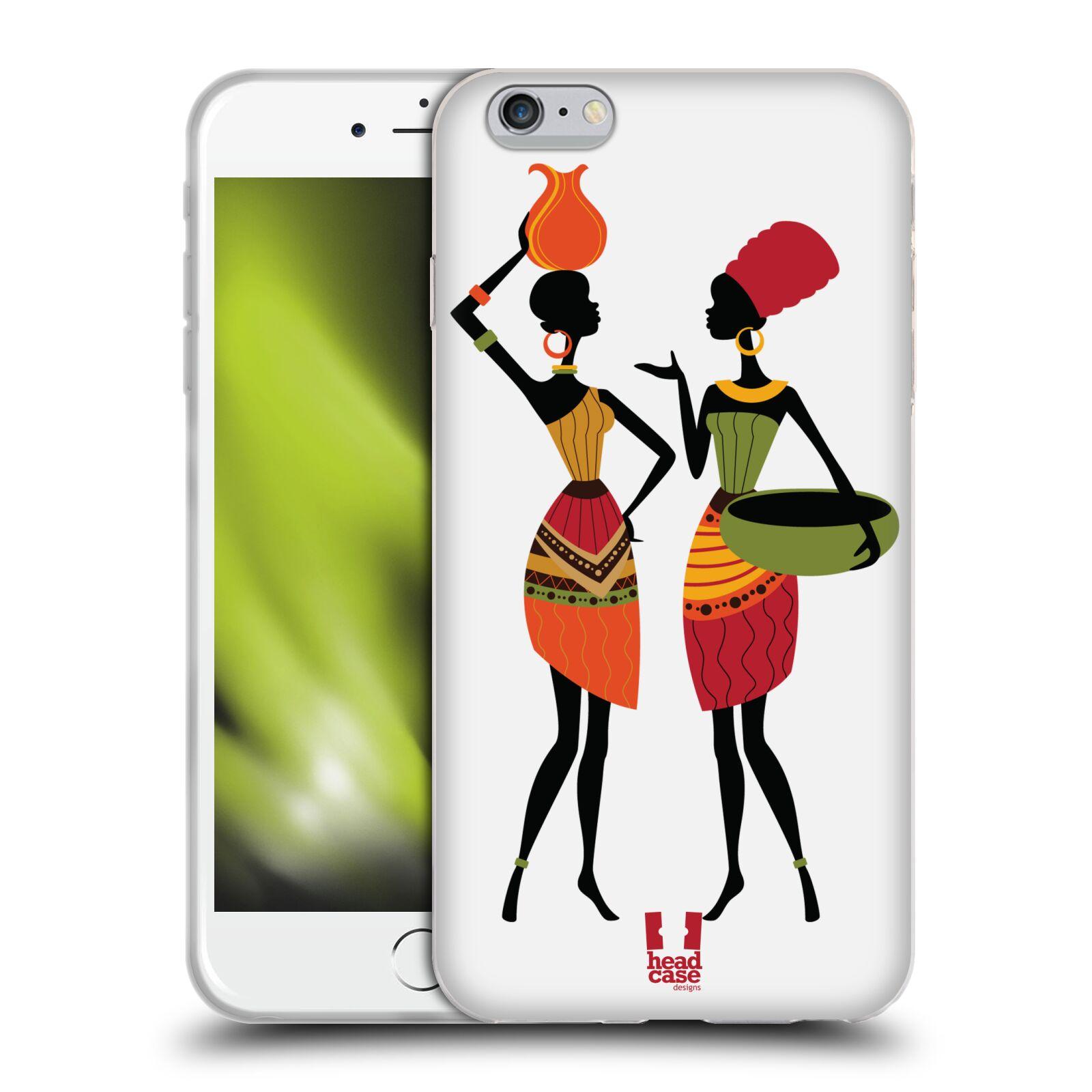 HEAD CASE silikonový obal na mobil Apple Iphone 6 PLUS/ 6S PLUS vzor Africké motivy DRBNY
