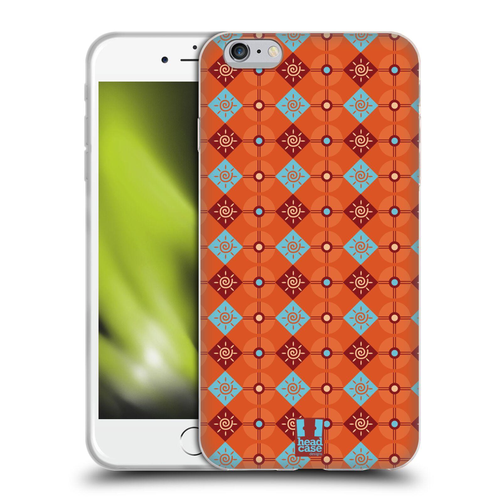 HEAD CASE silikonový obal na mobil Apple Iphone 6 PLUS/ 6S PLUS vzor Africké motivy sluneční vír
