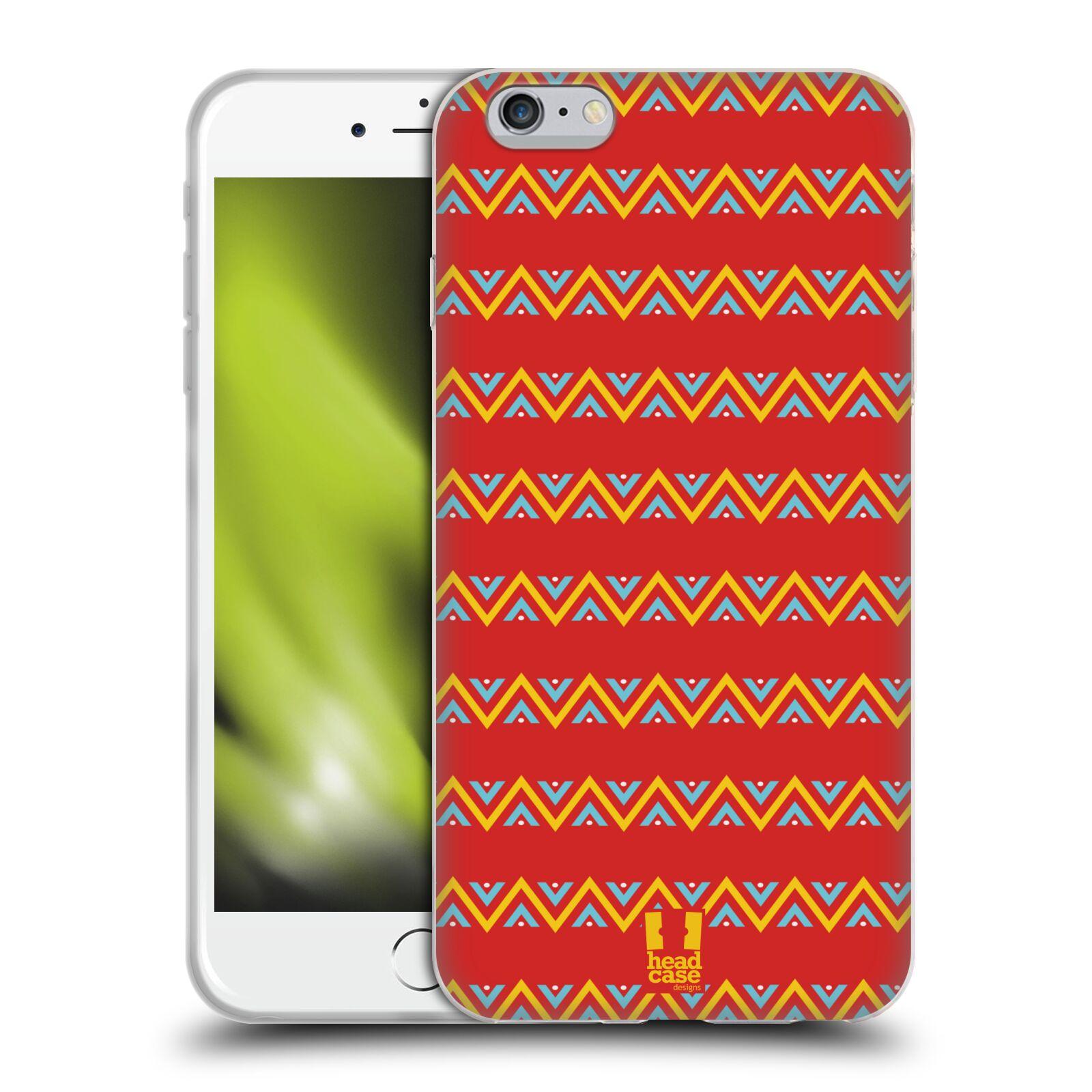 HEAD CASE silikonový obal na mobil Apple Iphone 6 PLUS/ 6S PLUS vzor Africké motivy CIK CAK
