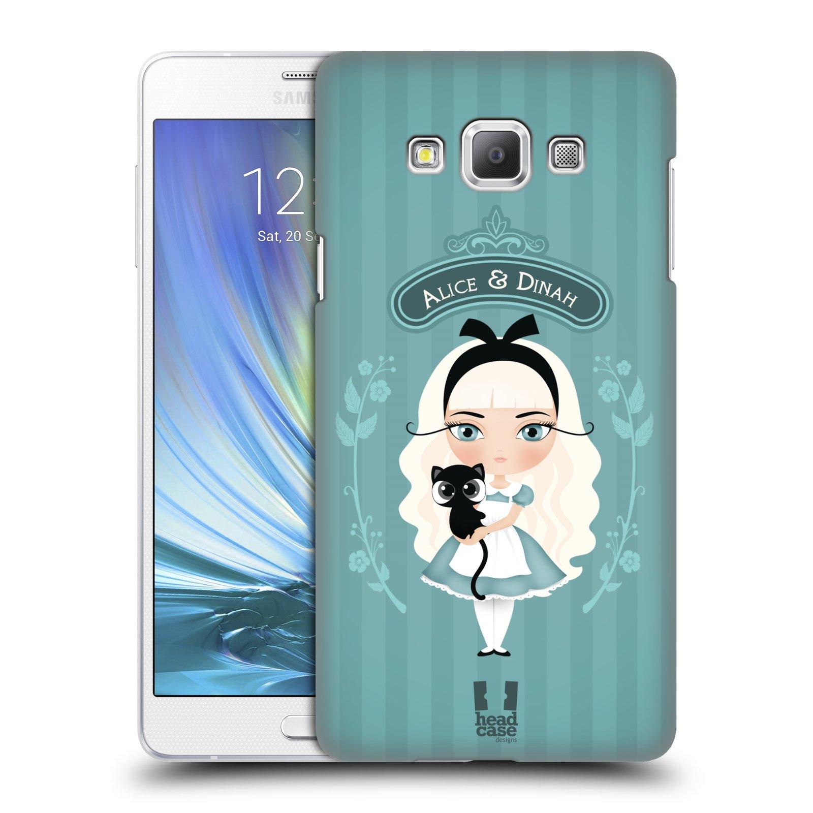 HEAD CASE plastový obal na mobil SAMSUNG GALAXY A7 vzor Alenka v říši divů Alenka