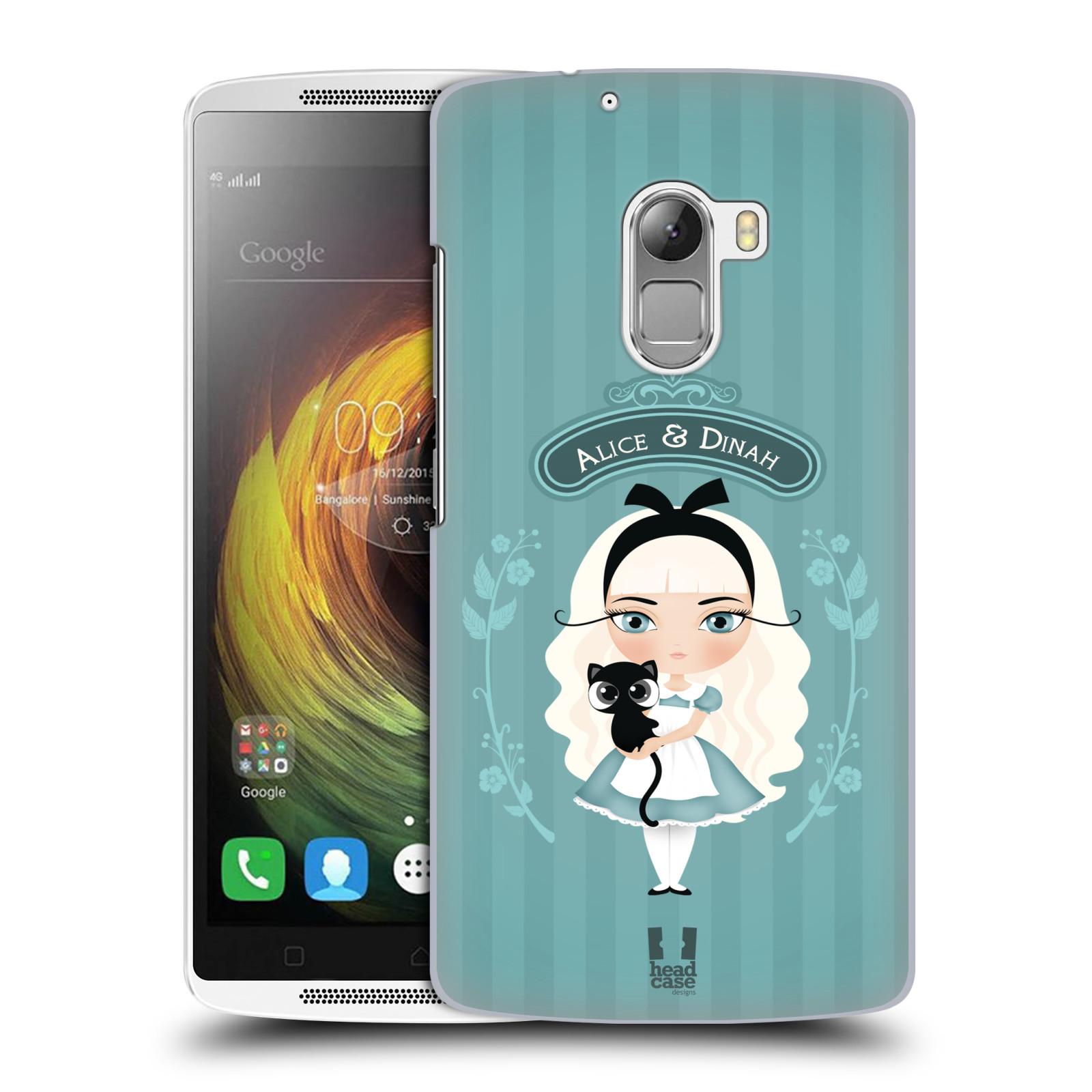 HEAD CASE pevný plastový obal na mobil LENOVO A7010 / A7010 DUAL / K4 Note / Vibe X3 lite vzor Alenka v říši divů Alenka