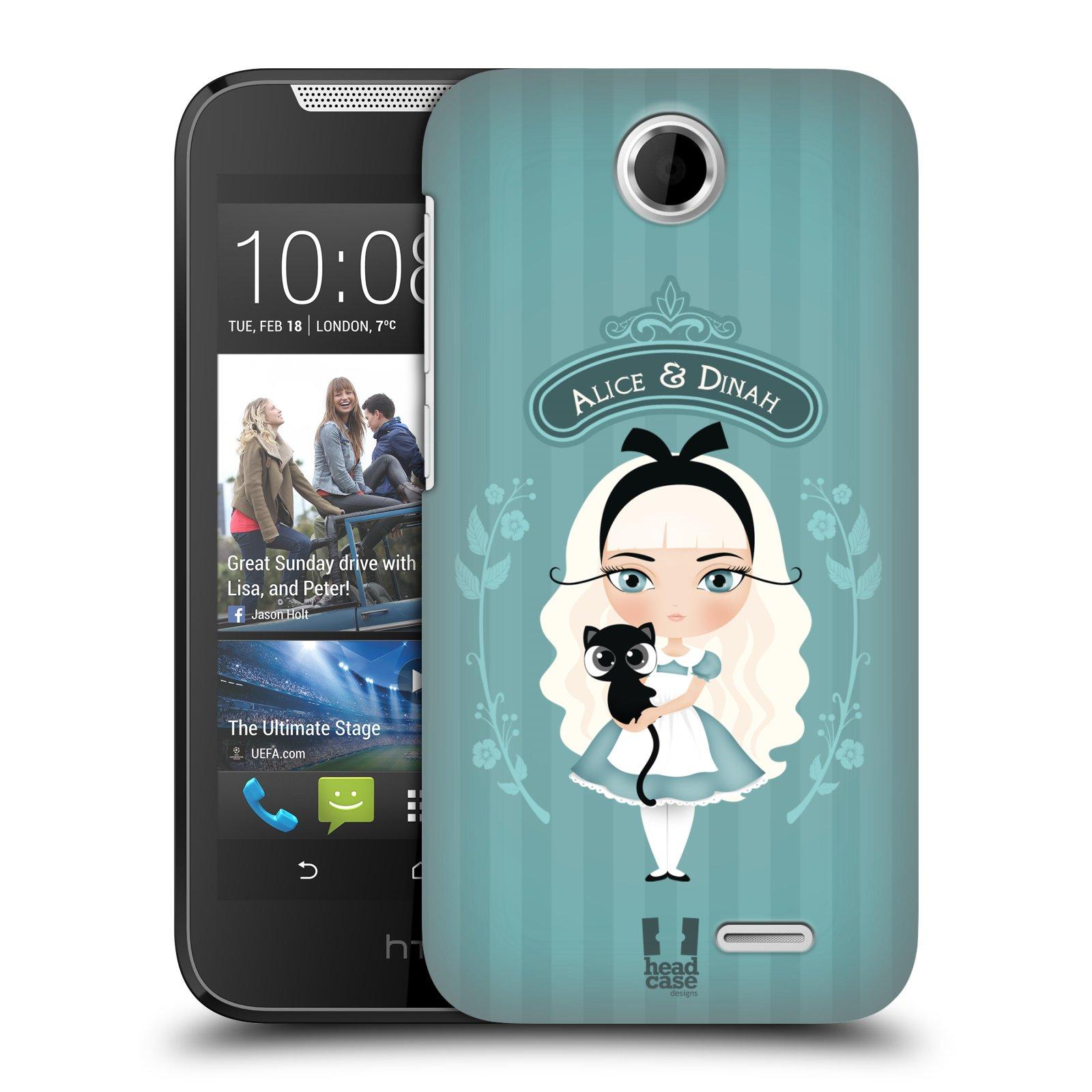 HEAD CASE plastový obal na mobil HTC Desire 310 vzor Alenka v říši divů Alenka