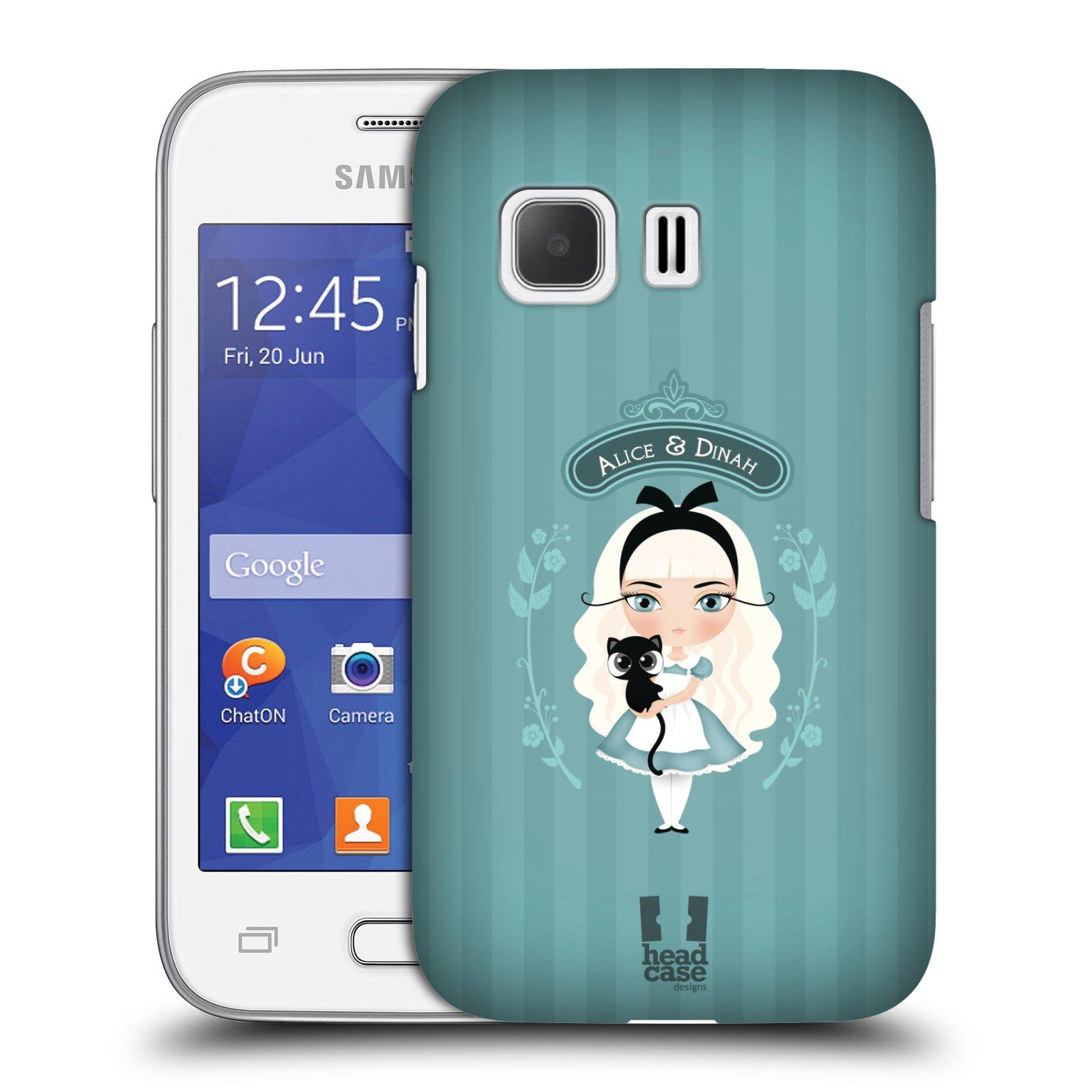 HEAD CASE plastový obal na mobil SAMSUNG Galaxy Young 2 (G130) vzor Alenka v říši divů Alenka
