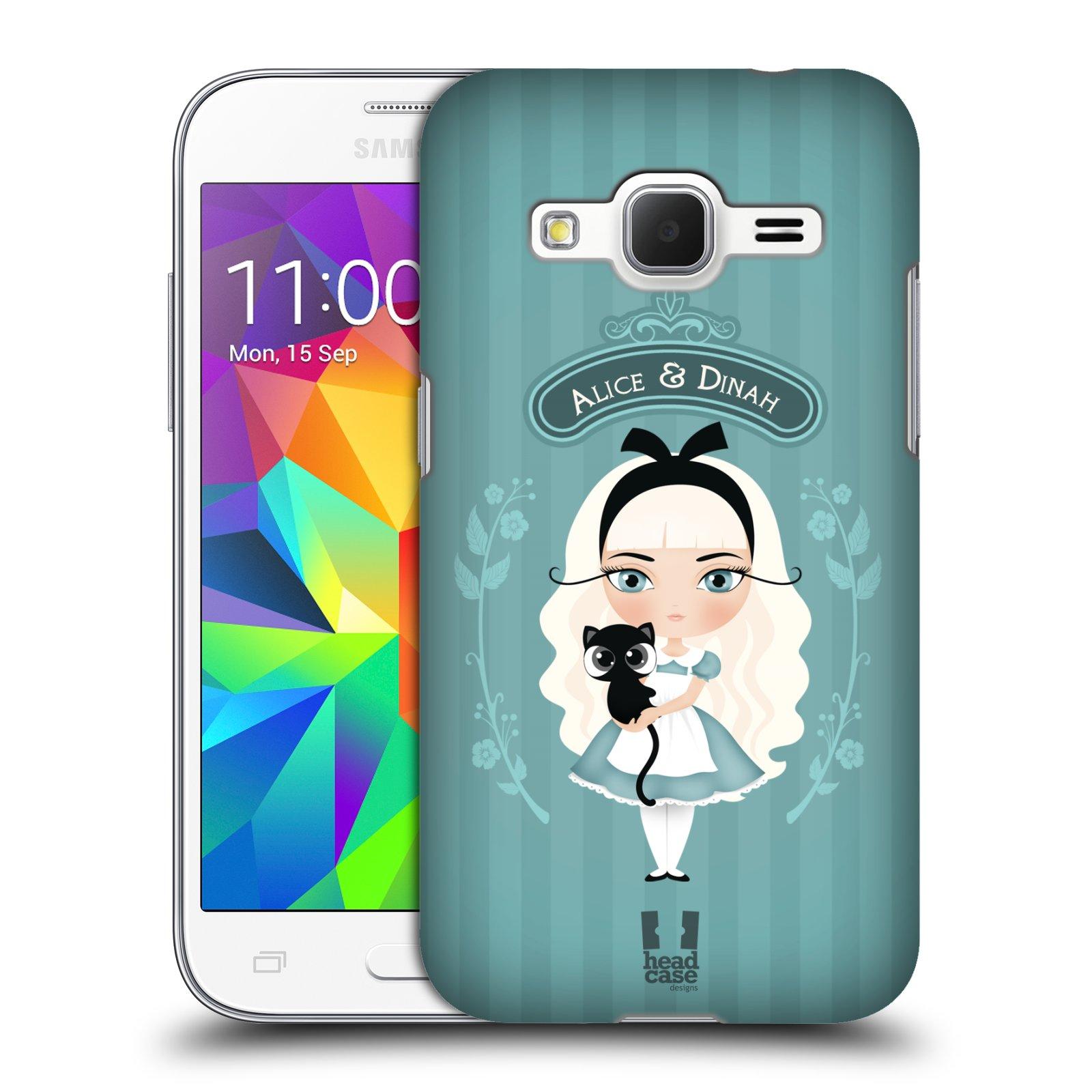 HEAD CASE plastový obal na mobil SAMSUNG GALAXY Core Prime (Core Prime VE) vzor Alenka v říši divů Alenka