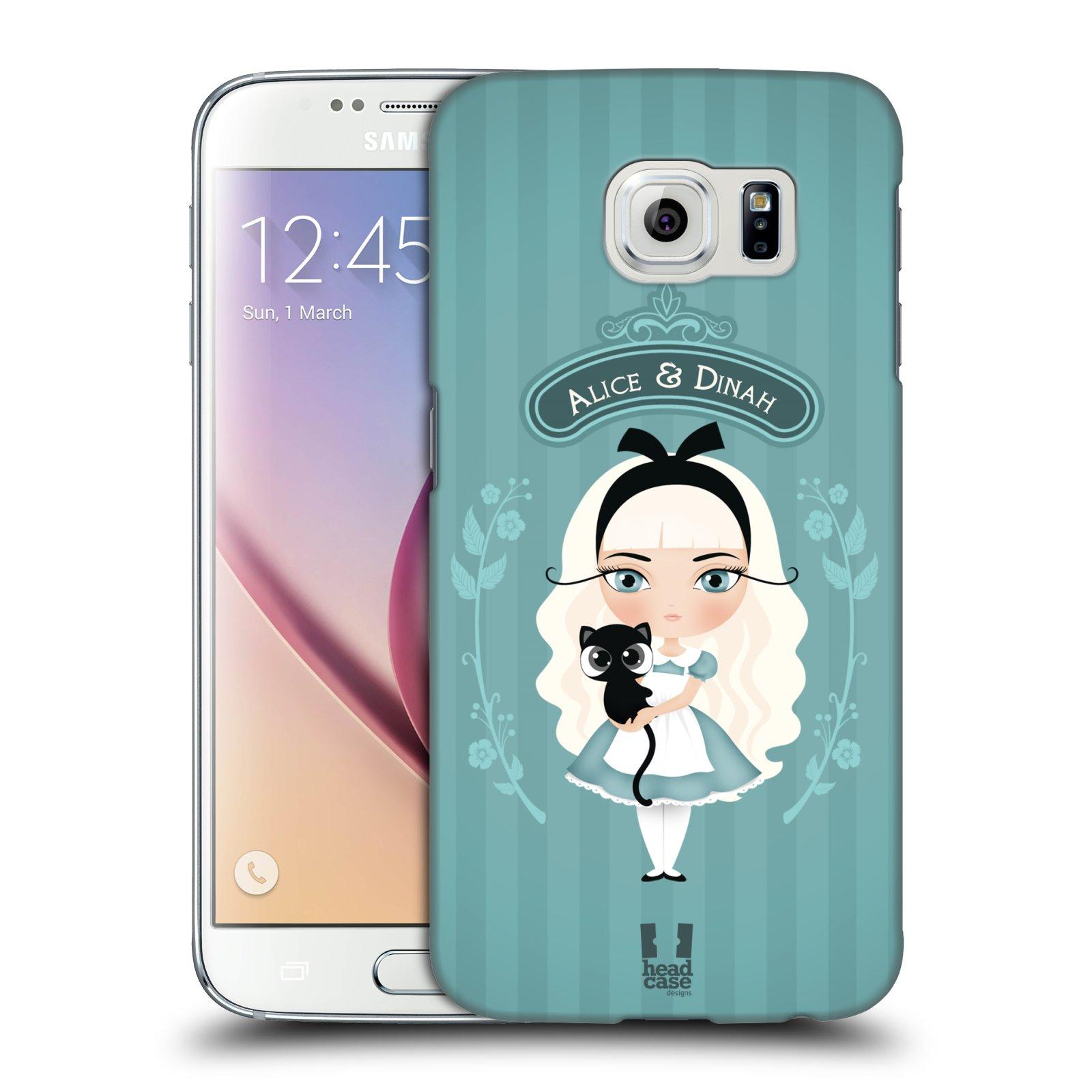 HEAD CASE plastový obal na mobil SAMSUNG Galaxy S6 (G9200, G920F) vzor Alenka v říši divů Alenka