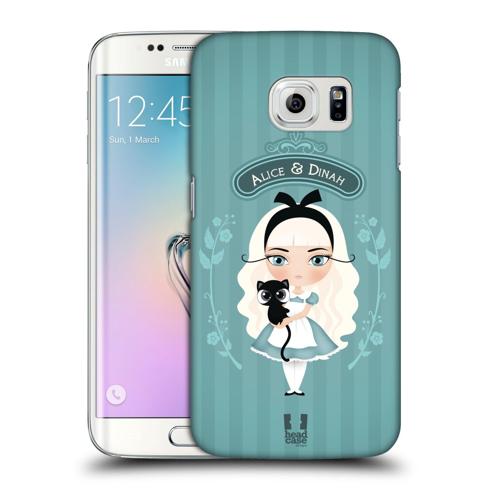 HEAD CASE plastový obal na mobil SAMSUNG Galaxy S6 EDGE (G9250, G925, G925F) vzor Alenka v říši divů Alenka