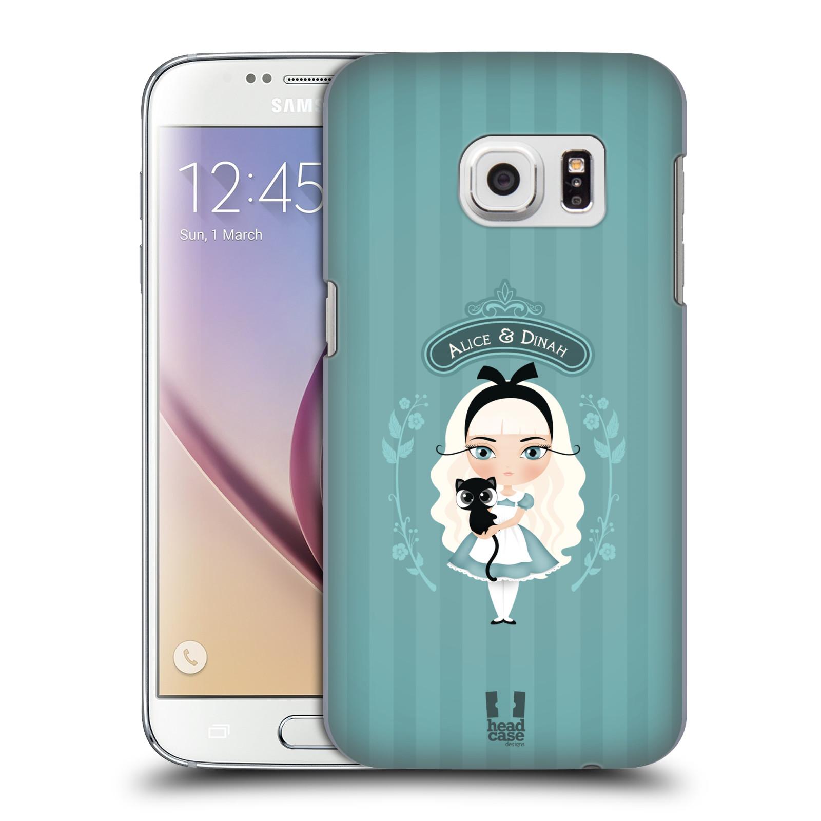 HEAD CASE plastový obal na mobil SAMSUNG GALAXY S7 vzor Alenka v říši divů Alenka