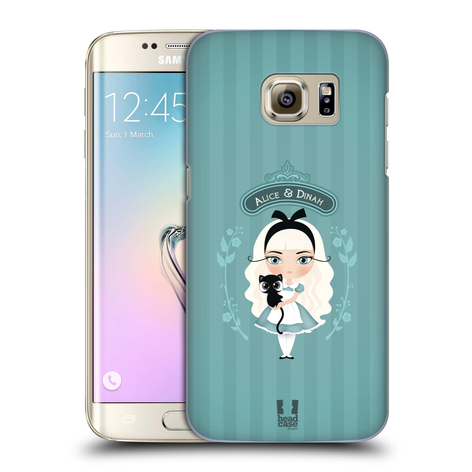 HEAD CASE plastový obal na mobil SAMSUNG GALAXY S7 EDGE vzor Alenka v říši divů Alenka