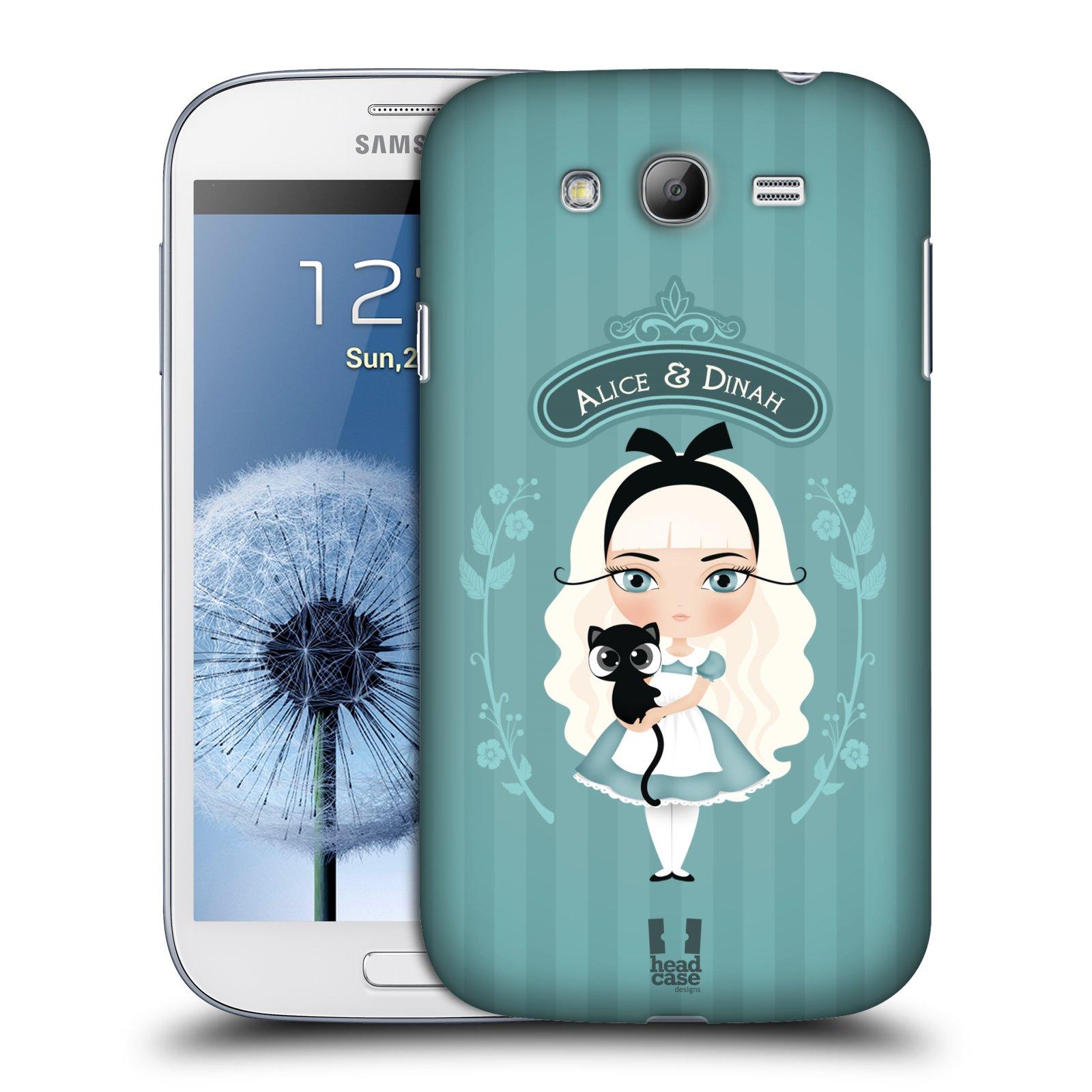 HEAD CASE plastový obal na mobil SAMSUNG GALAXY Grand i9080 vzor Alenka v říši divů Alenka