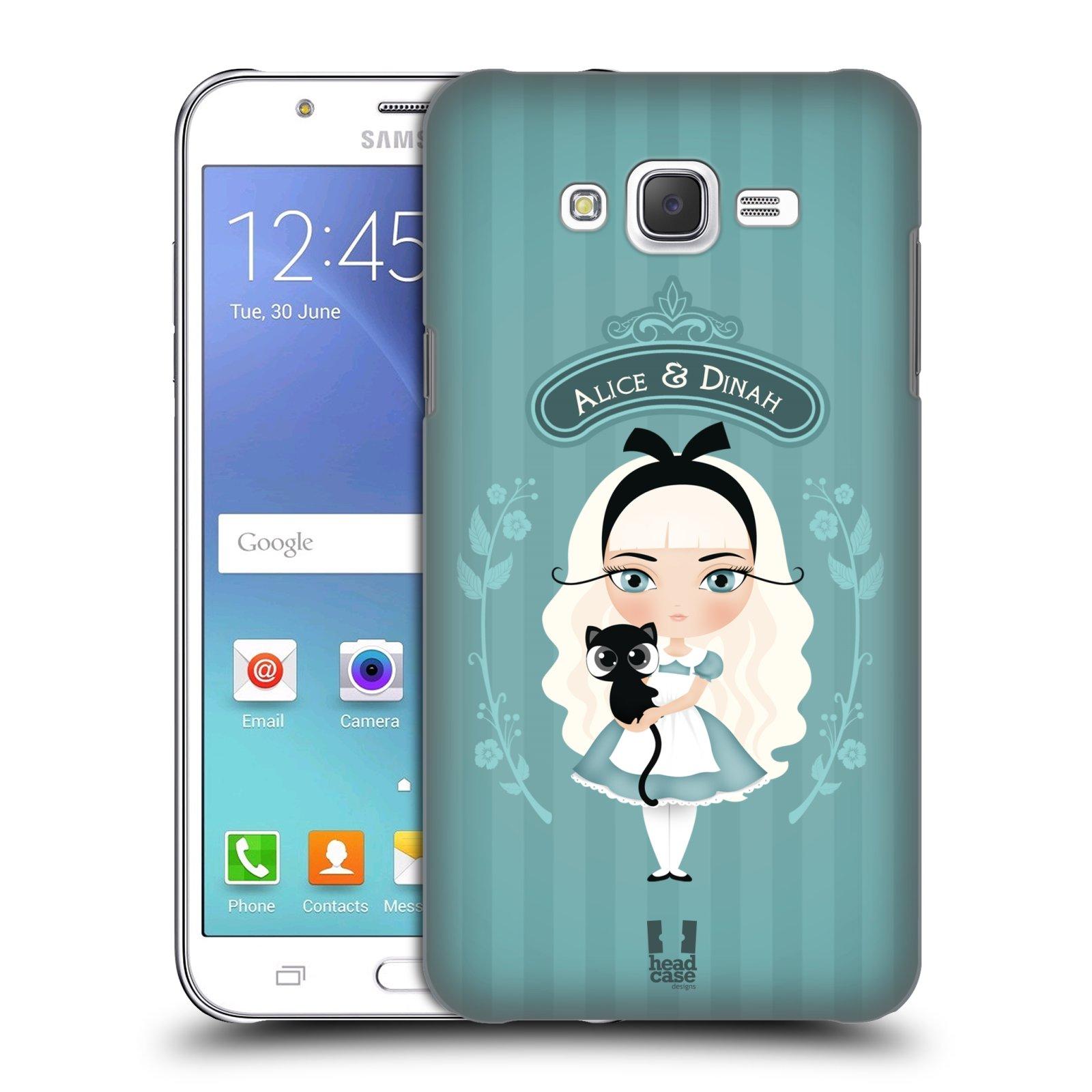 HEAD CASE plastový obal na mobil SAMSUNG Galaxy J7, J700 vzor Alenka v říši divů Alenka