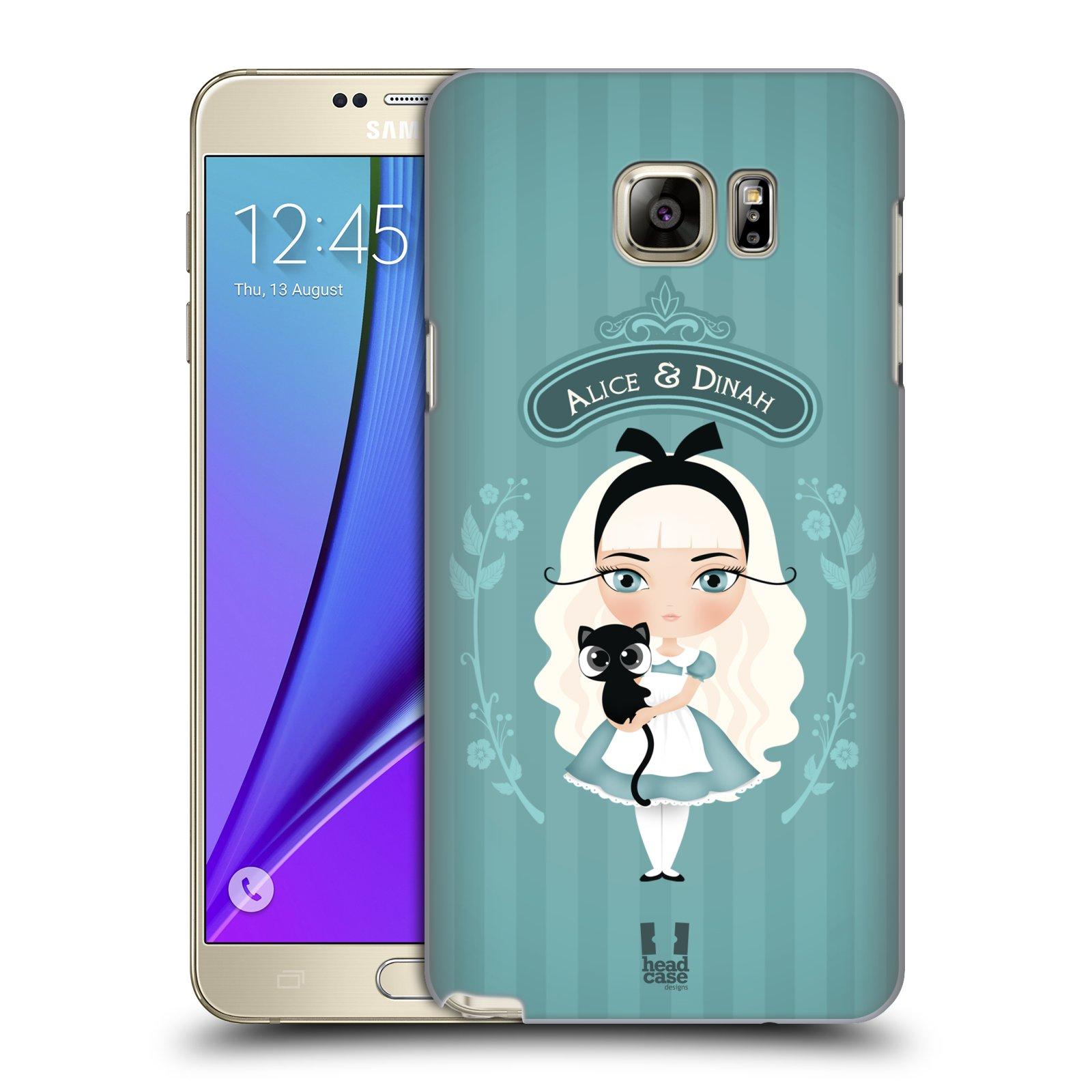 HEAD CASE plastový obal na mobil SAMSUNG Galaxy Note 5 (N920) vzor Alenka v říši divů Alenka