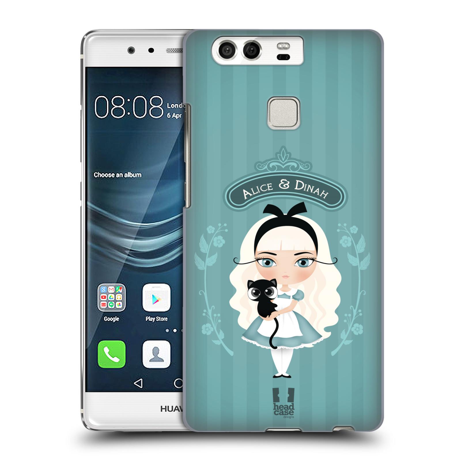 HEAD CASE plastový obal na mobil Huawei P9 / P9 DUAL SIM vzor Alenka v říši divů Alenka