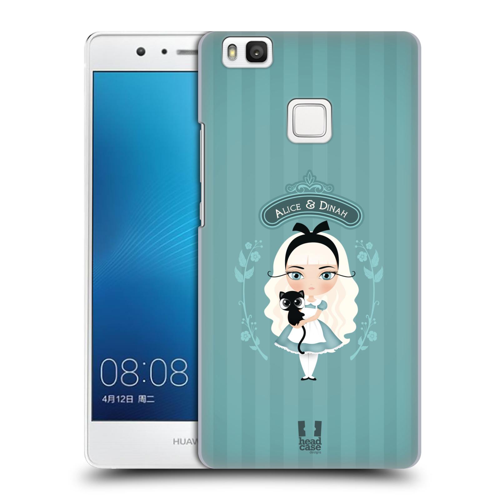 HEAD CASE plastový obal na mobil Huawei P9 LITE / P9 LITE DUAL SIM vzor Alenka v říši divů Alenka