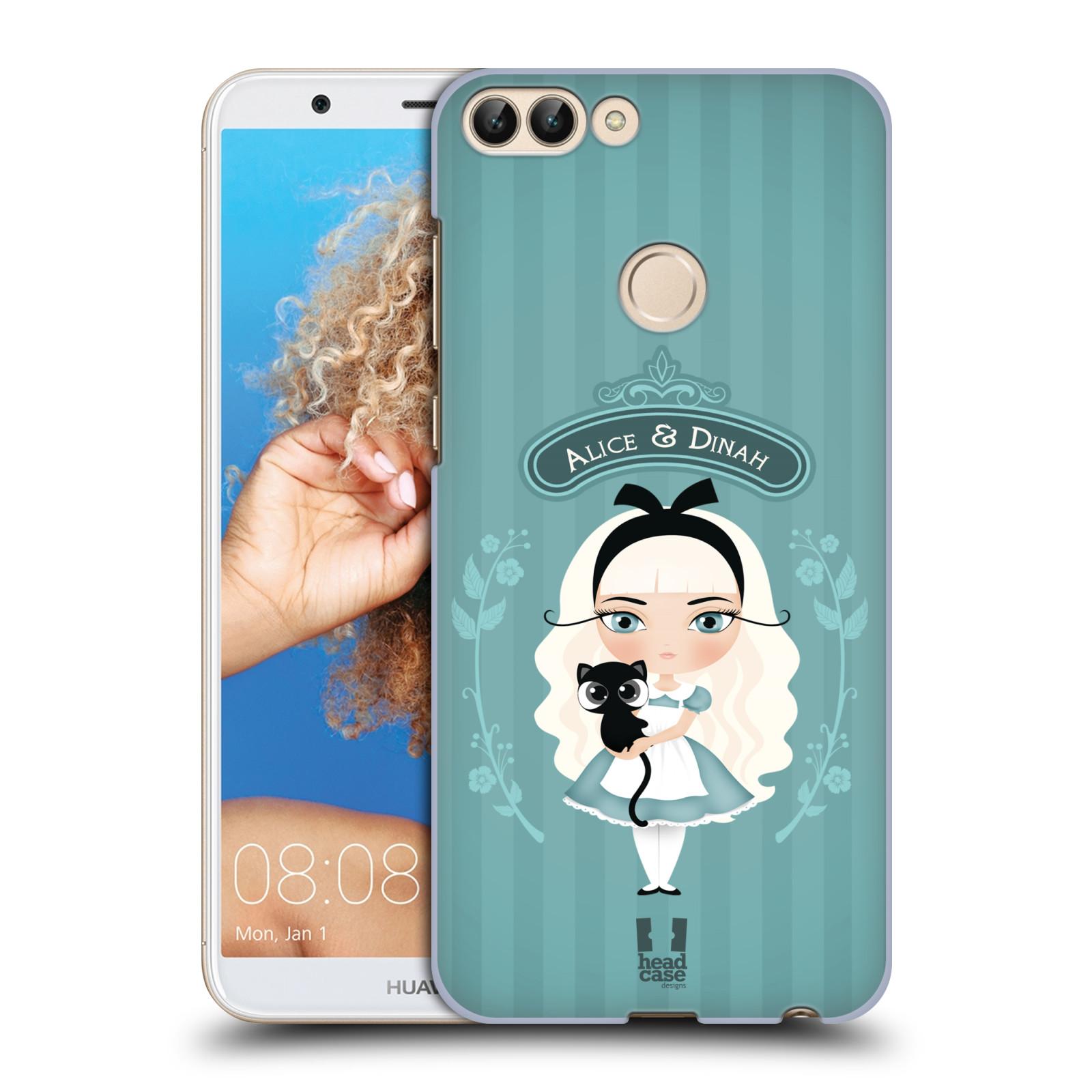 HEAD CASE plastový obal na mobil Huawei P Smart vzor Alenka v říši divů Alenka