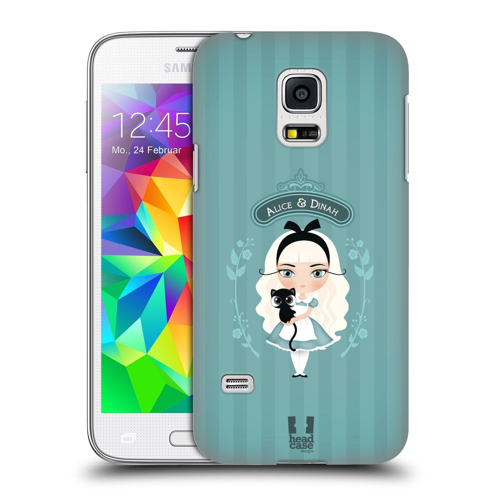 HEAD CASE plastový obal na mobil SAMSUNG Galaxy S5 MINI / S5 MINI DUOS vzor Alenka v říši divů Alenka
