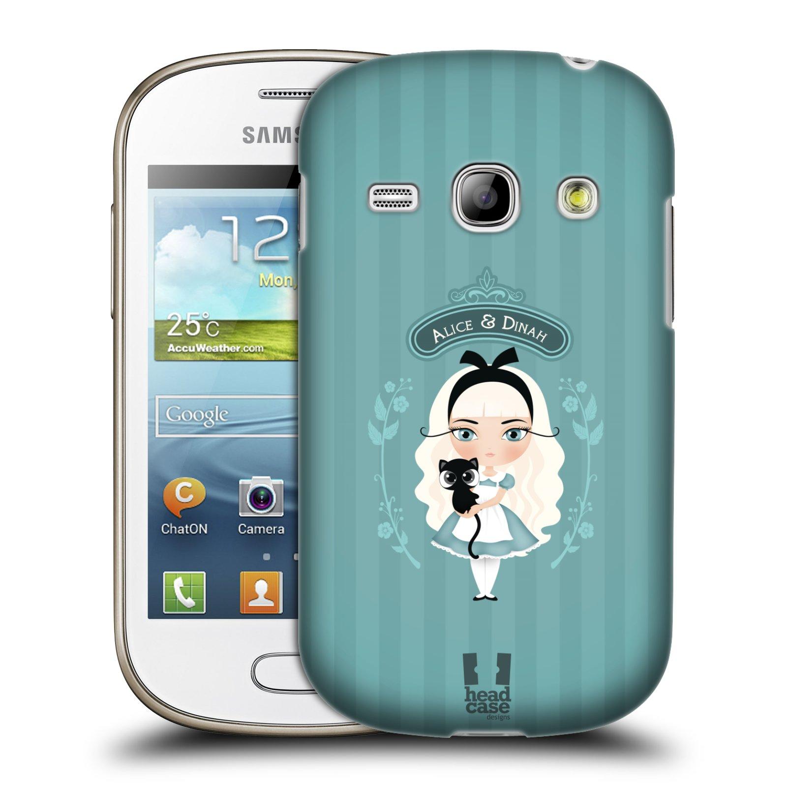 HEAD CASE plastový obal na mobil SAMSUNG GALAXY FAME (S6810) vzor Alenka v říši divů Alenka