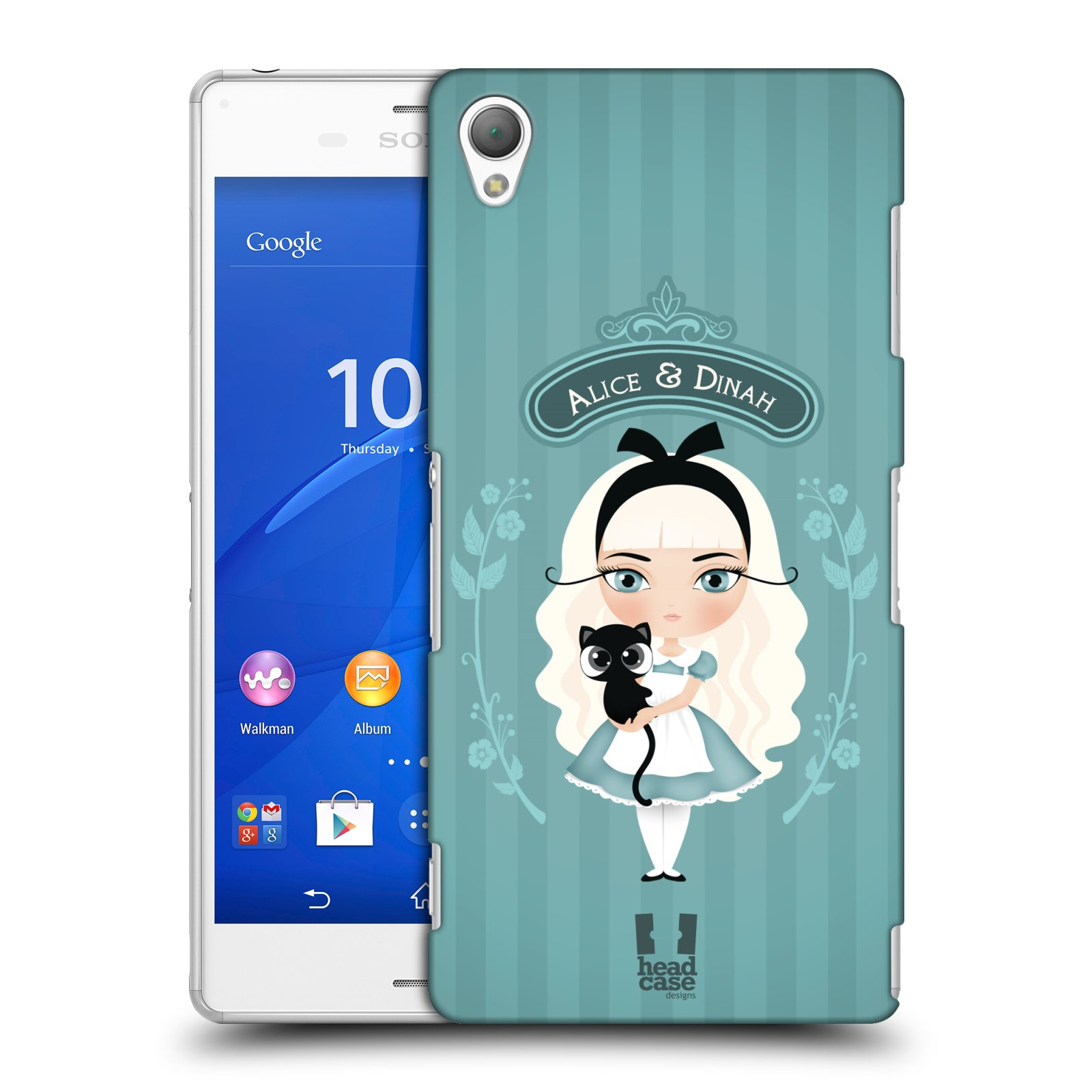 HEAD CASE DESIGNS ALICE IN WONDERLAND CASE COVER FOR SONY XPERIA Z3
