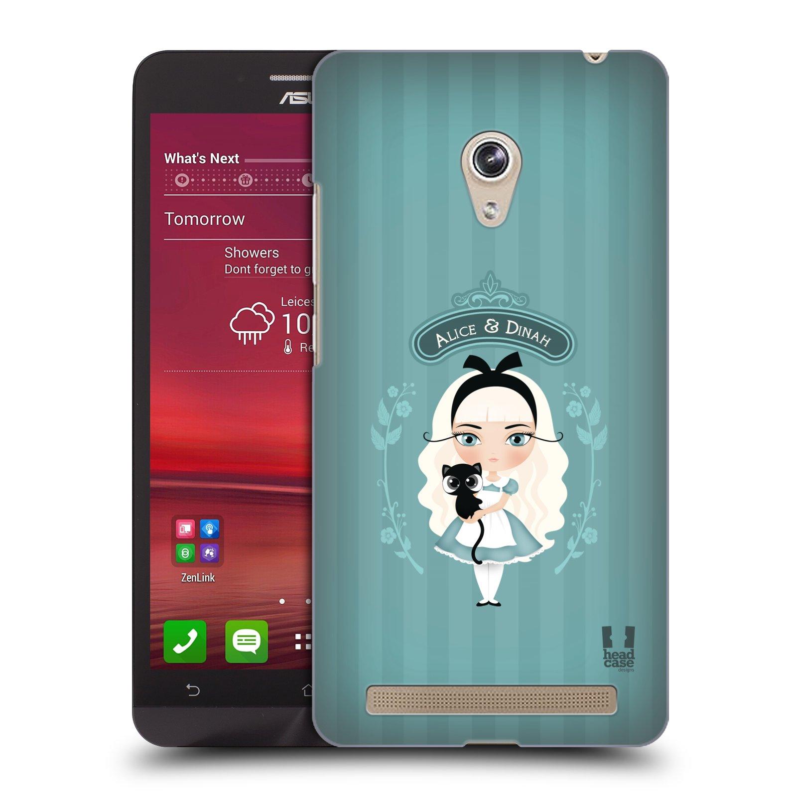 HEAD CASE plastový obal na mobil Asus Zenfone 6 vzor Alenka v říši divů Alenka