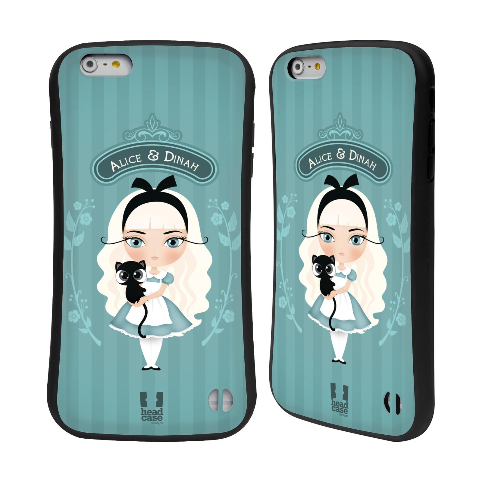 HEAD CASE silikon/plast odolný obal na mobil Apple Iphone 6 PLUS / 6S PLUS vzor Alenka v říši divů Alenka