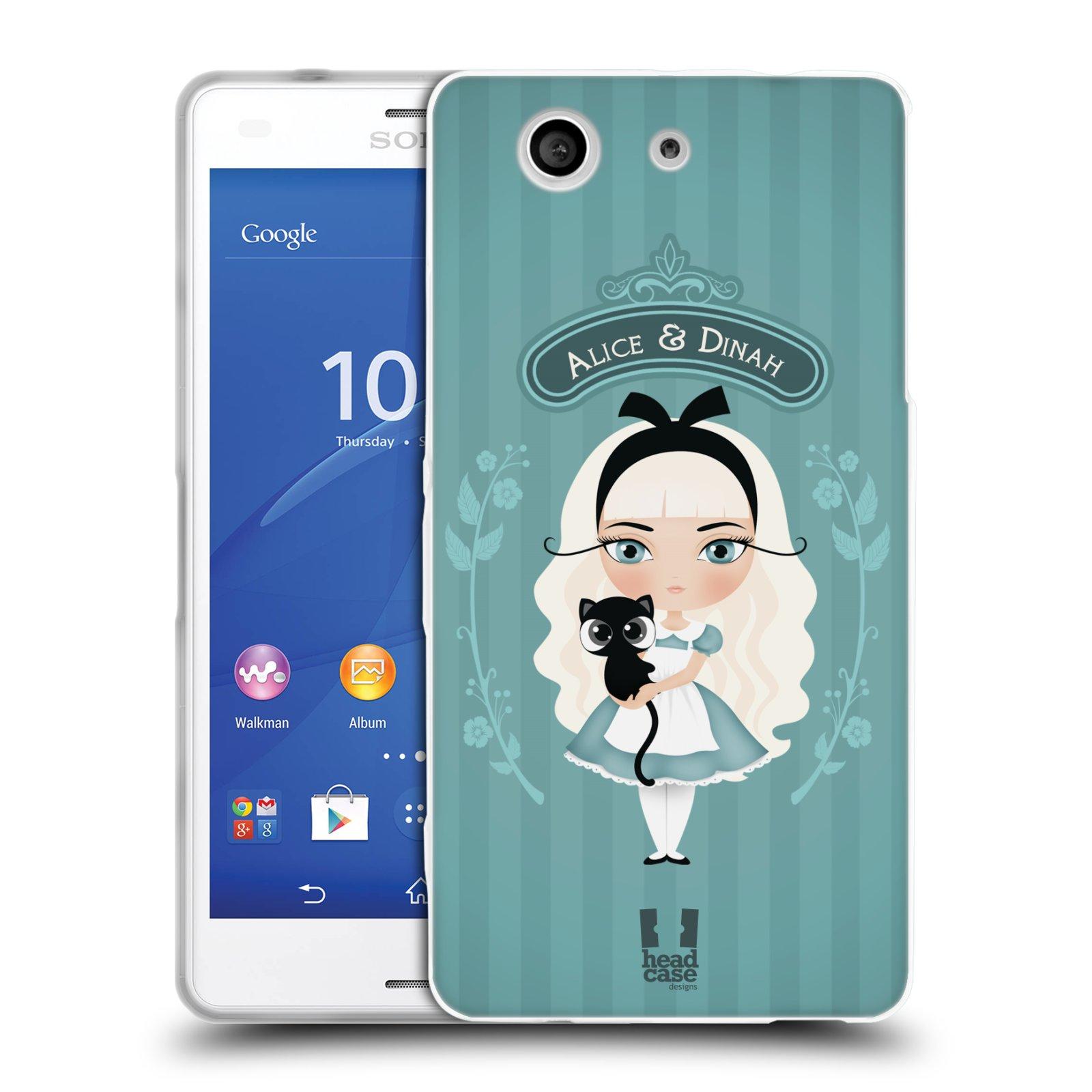 HEAD CASE silikonový obal na mobil Sony Xperia Z3 COMPACT (D5803) vzor Alenka v říši divů Alenka
