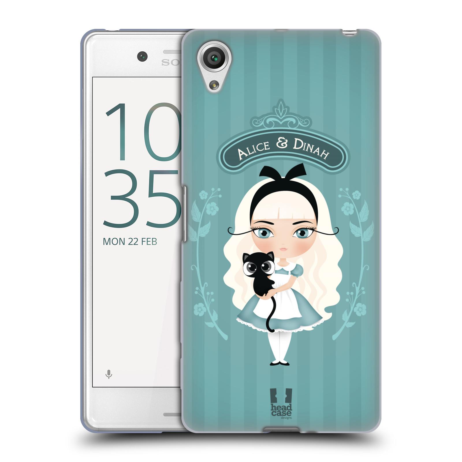HEAD CASE silikonový obal na mobil Sony Xperia X PERFORMANCE (F8131, F8132) vzor Alenka v říši divů Alenka