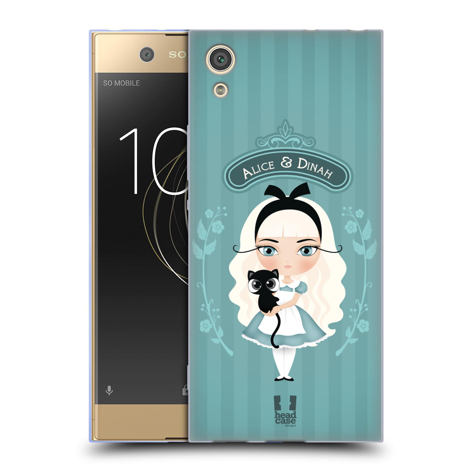 HEAD CASE silikonový obal na mobil Sony Xperia XA1 / XA1 DUAL SIM vzor Alenka v říši divů Alenka