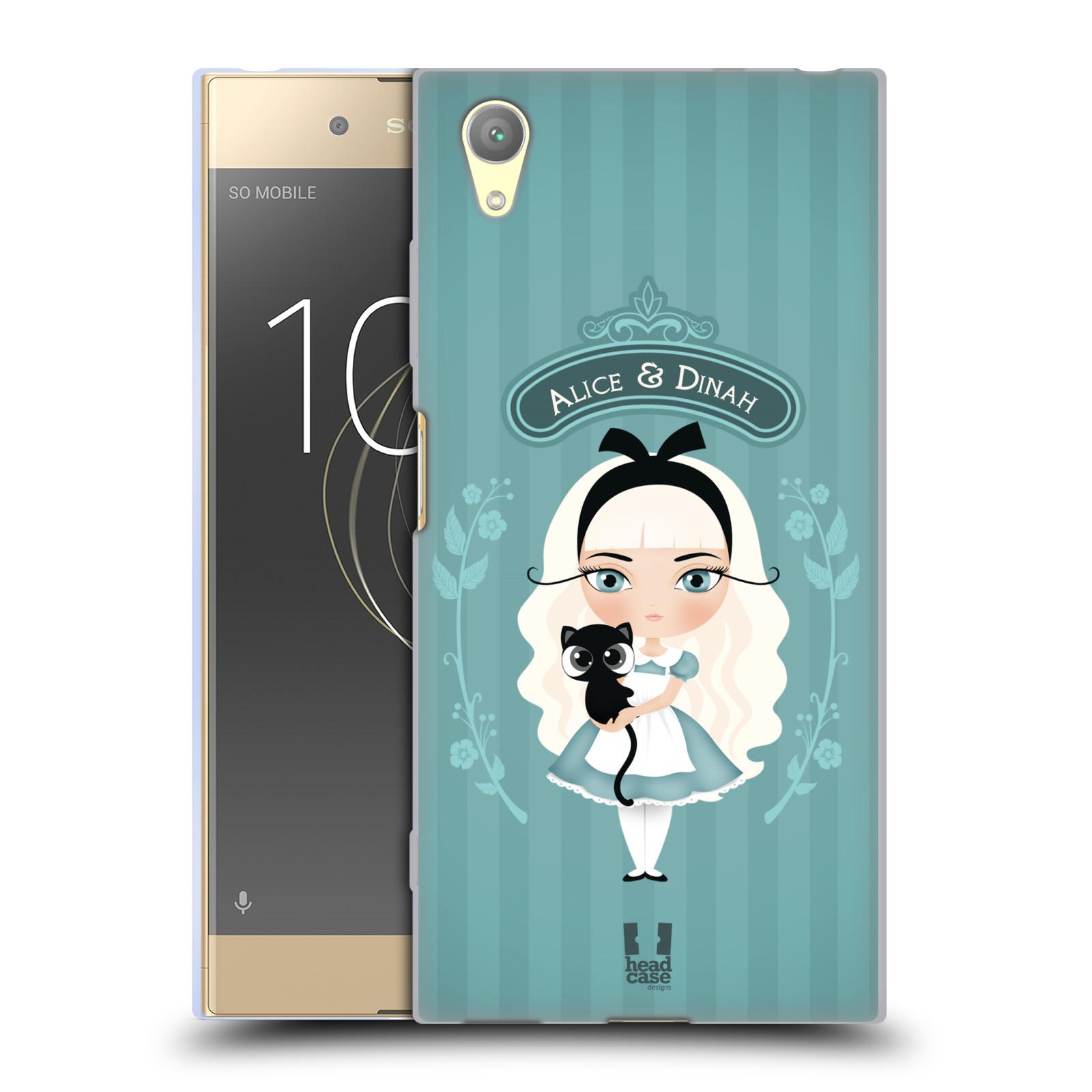 HEAD CASE silikonový obal na mobil Sony Xperia XA1 PLUS vzor Alenka v říši divů Alenka