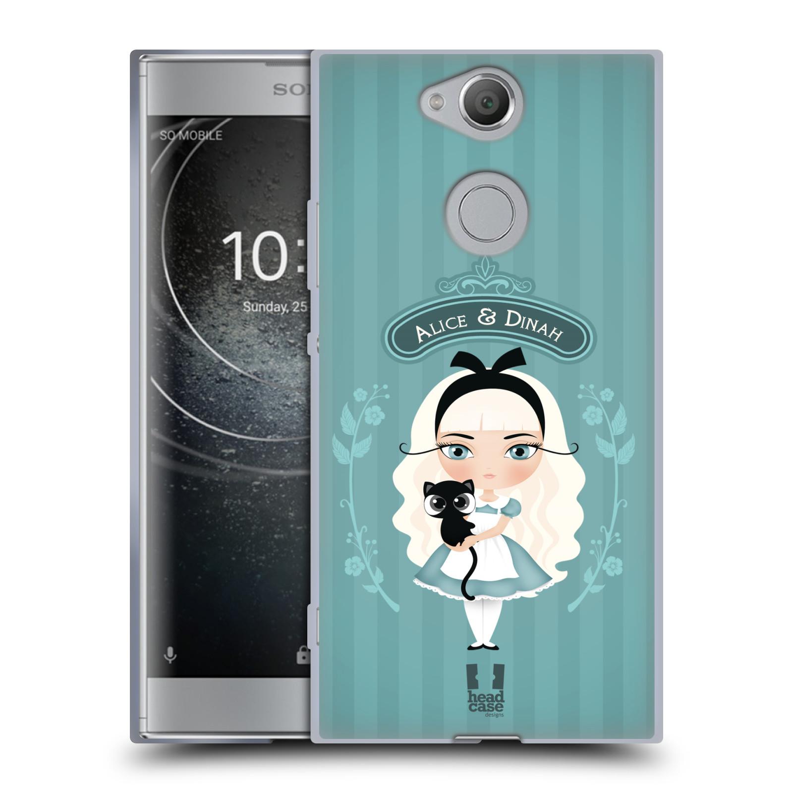 Pouzdro na mobil Sony Xperia XA2 (DUAL SIM, SINGLE SIM) vzor Alenka v říši divů Alenka